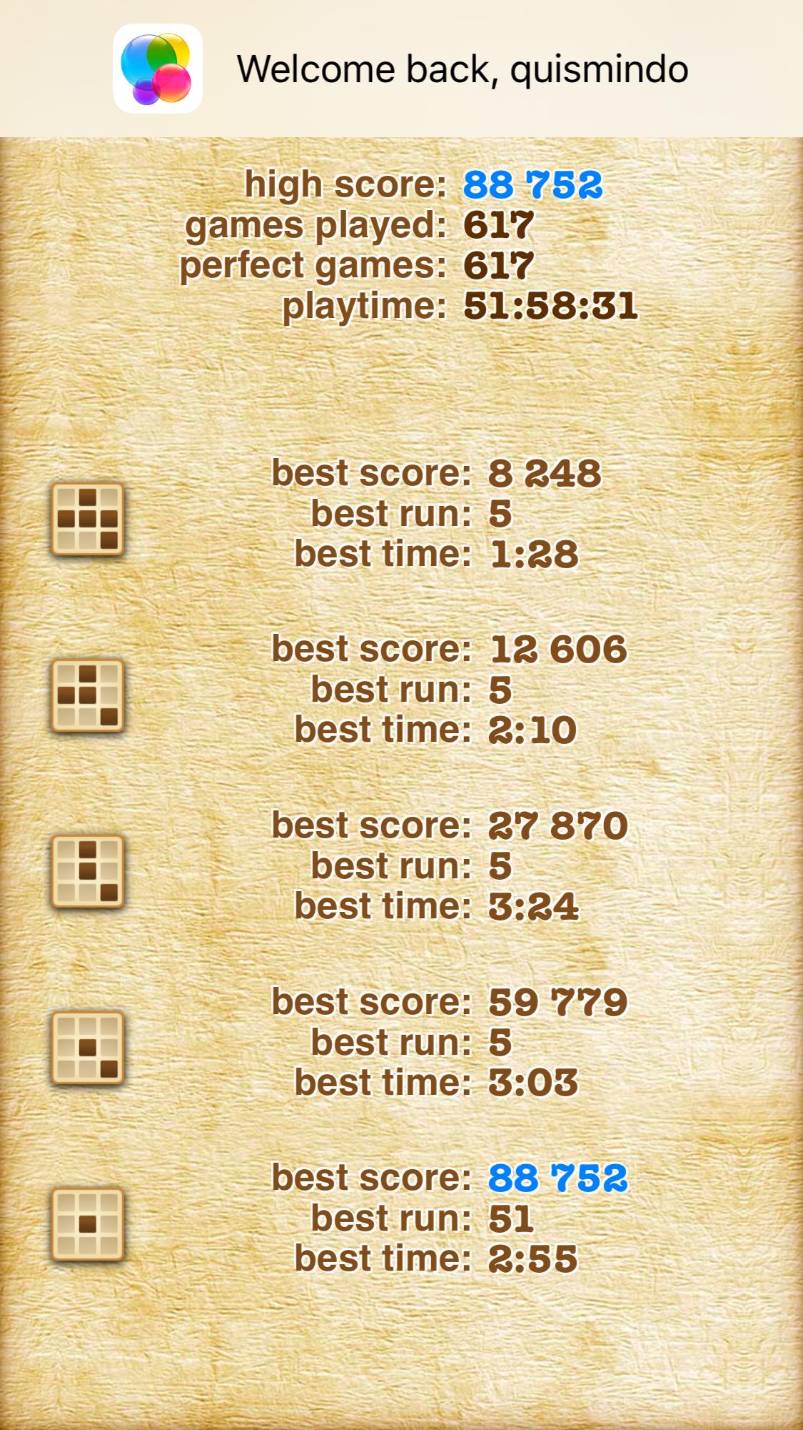 Maxwel: Sudoku 2 Pro [Hard] (iOS) 59,779 points on 2016-01-31 11:31:33