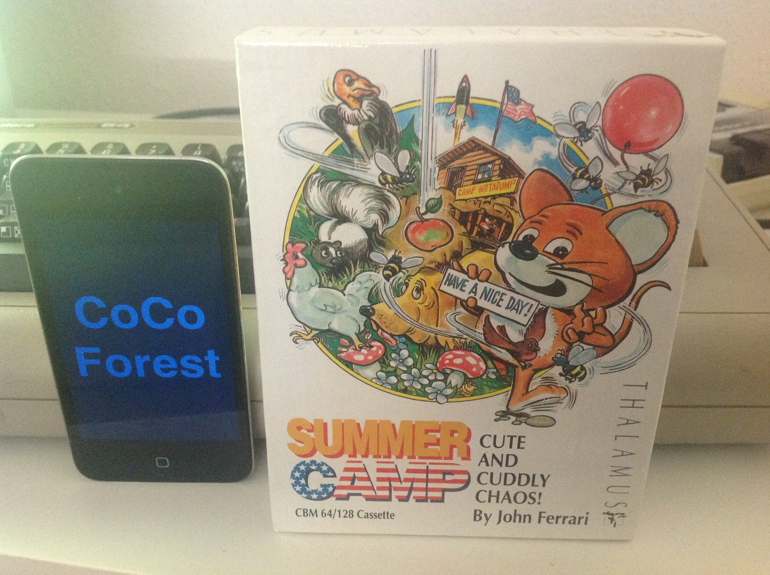 CoCoForest: Summer Camp (Commodore 64) 12,960 points on 2015-12-08 09:07:19