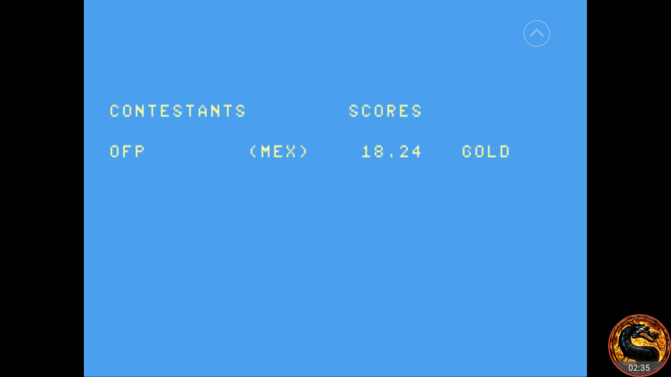 omargeddon: Summer Games: 100 Meter Dash (Atari 7800 Emulated) 0:00:18.24 points on 2018-09-01 16:02:47