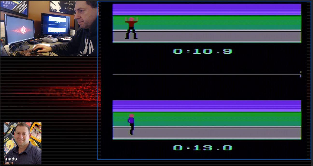 nads: Summer Games: 100-Yard Dash (Atari 2600) 0:00:10.9 points on 2020-07-08 01:05:02