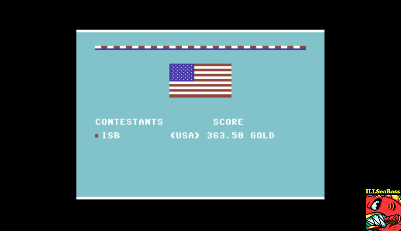 ILLSeaBass: Summer Games: Platform Diving (Commodore 64 Emulated) 36,350 points on 2017-01-14 22:52:57