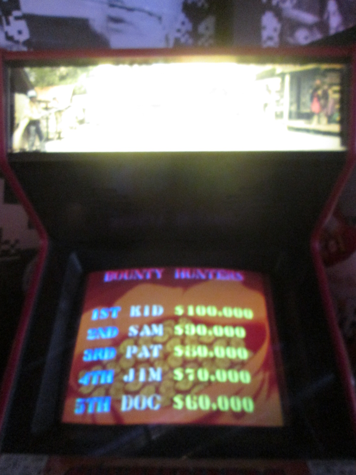 ed1475: Sunset Riders (Arcade) 4,600 points on 2016-11-20 15:07:12