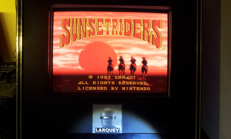 Larquey: Sunset Riders [Easy] (SNES/Super Famicom Emulated) 32,860 points on 2017-12-28 10:11:08