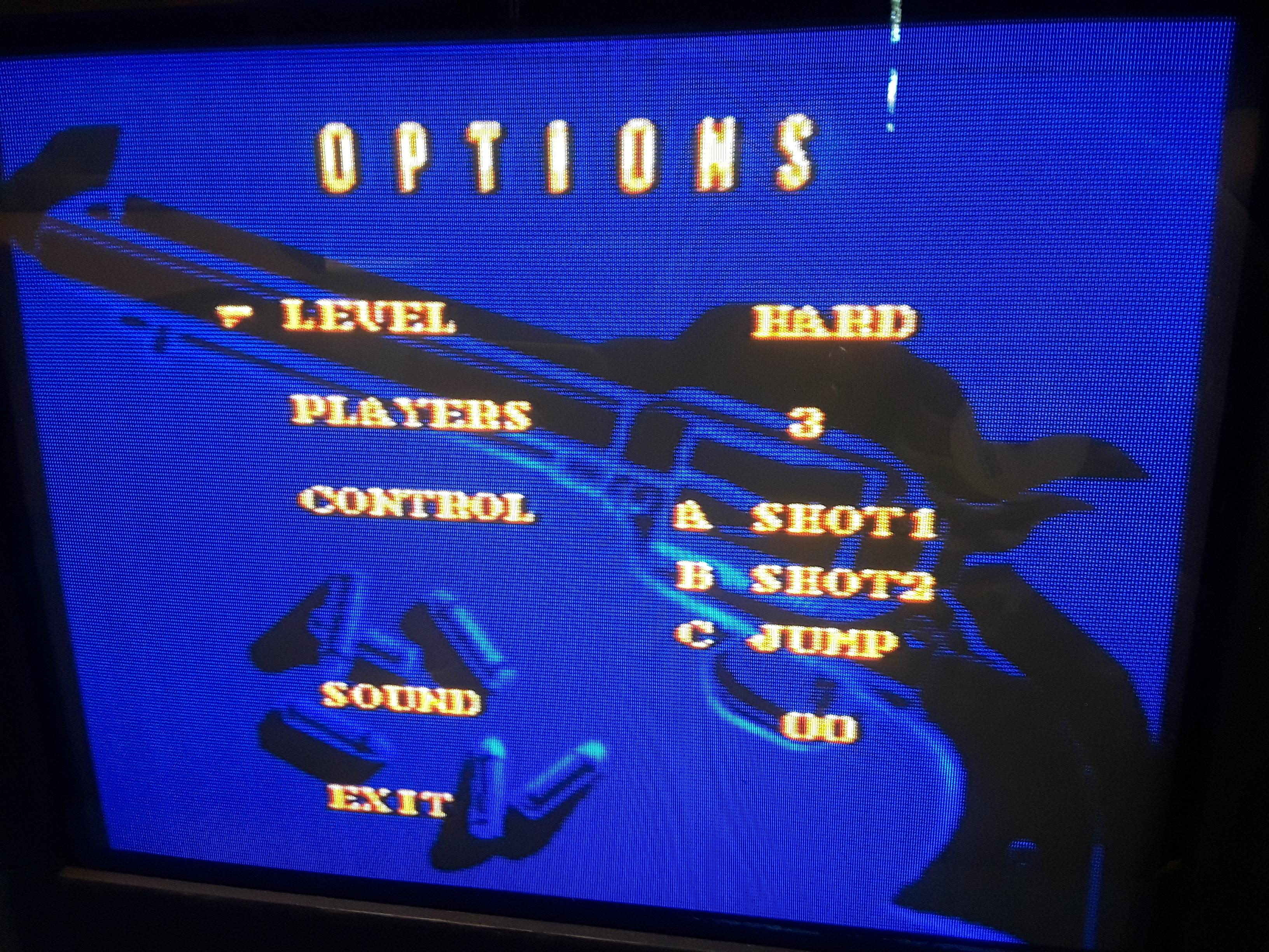 JML101582: Sunset Riders [Hard] (Sega Genesis / MegaDrive) 6,500 points on 2019-06-15 18:19:28