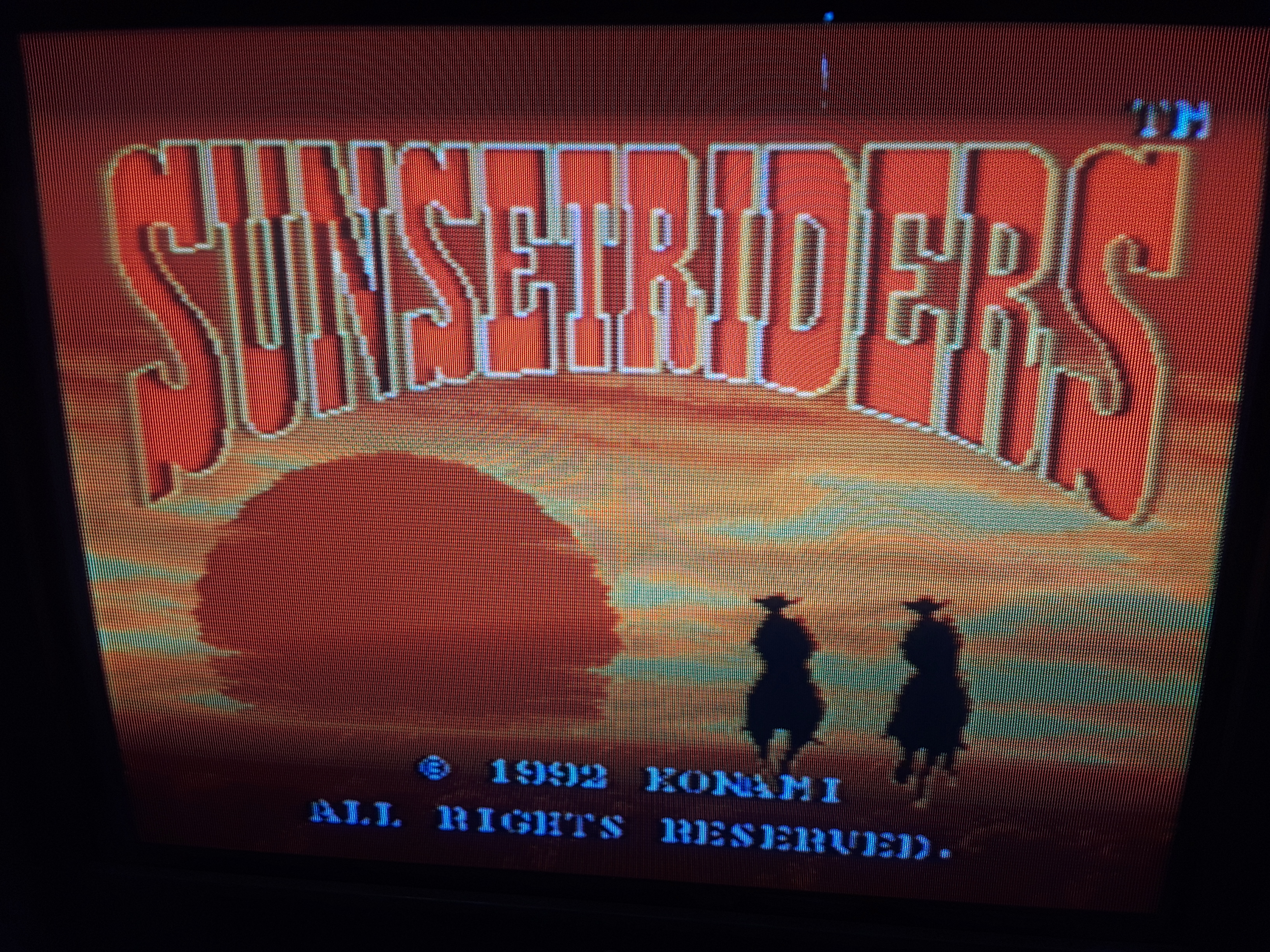 Sunset Riders 8,800 points