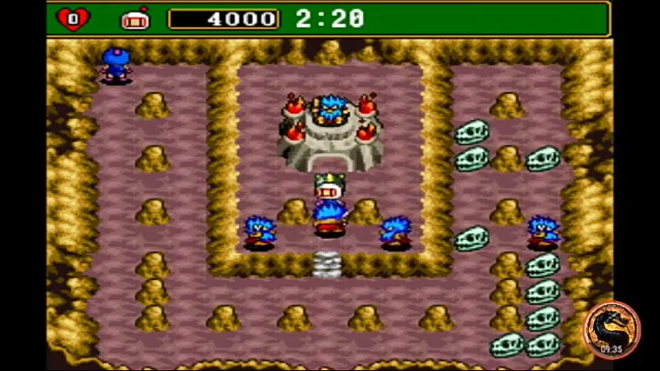 omargeddon: Super Bomberman 4 (SNES/Super Famicom Emulated) 4,000 points on 2019-11-24 16:22:36