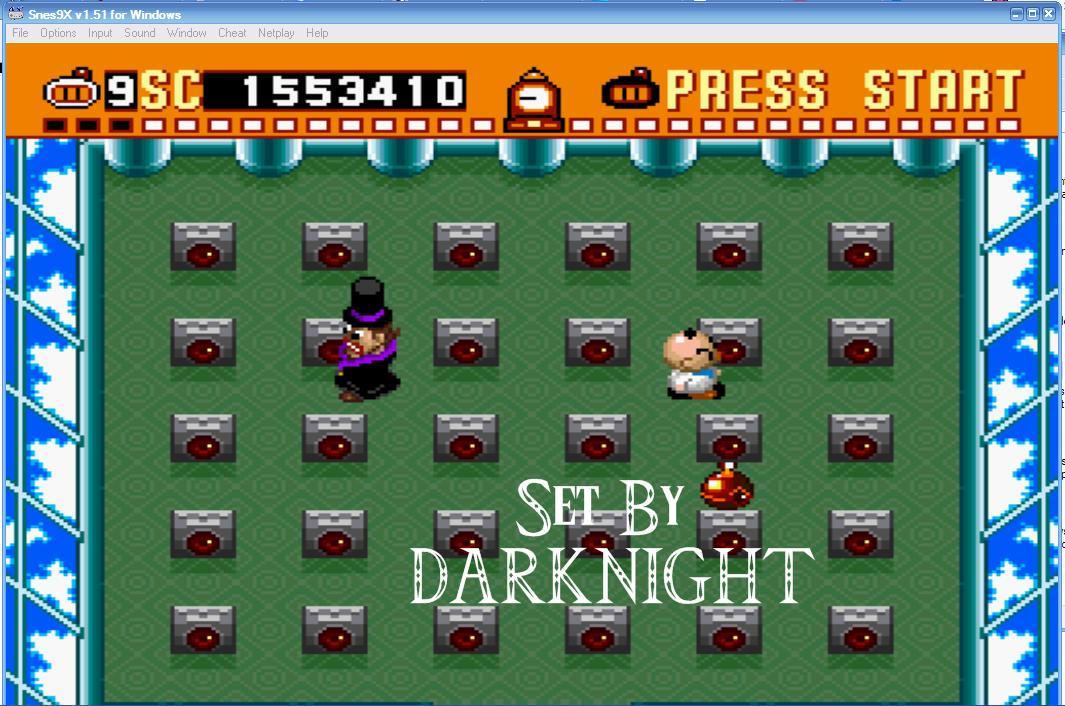 Super Bomberman 1,553,410 points