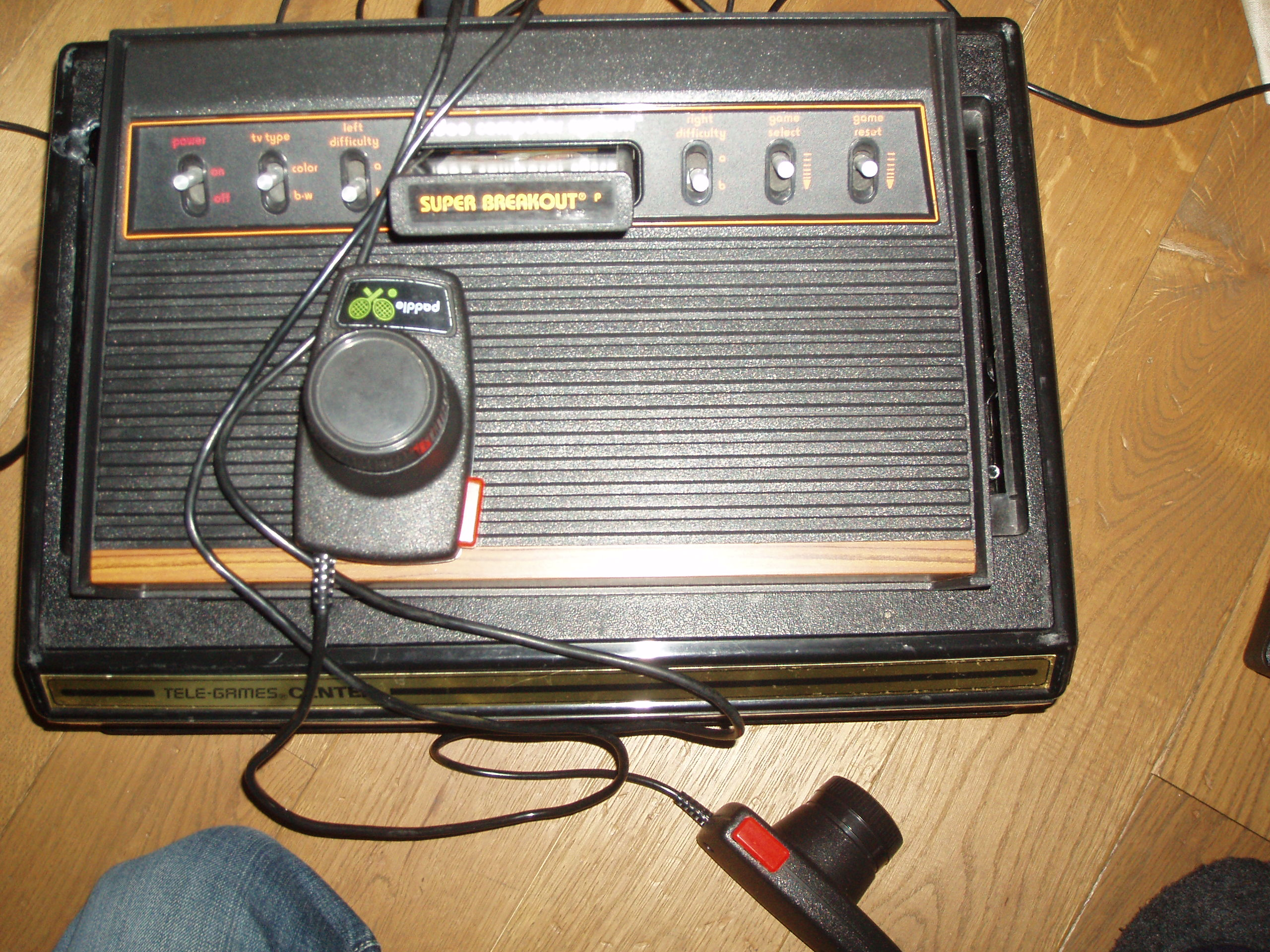 atari2600forever: Super Breakout (Atari 2600 Novice/B) 402 points on 2018-04-18 03:55:35