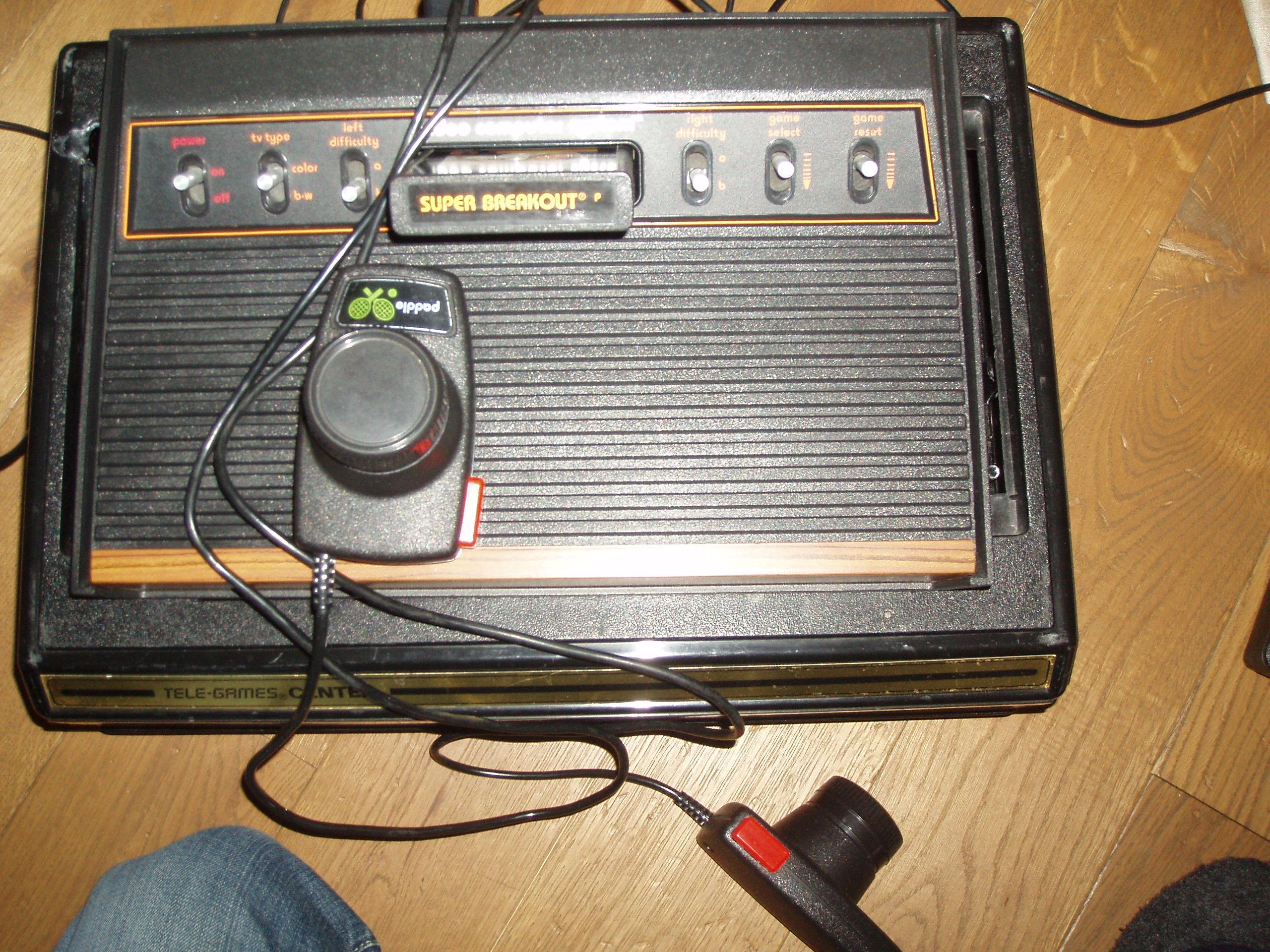 atari2600forever: Super Breakout (Atari 2600 Novice/B) 413 points on 2018-04-23 03:16:54