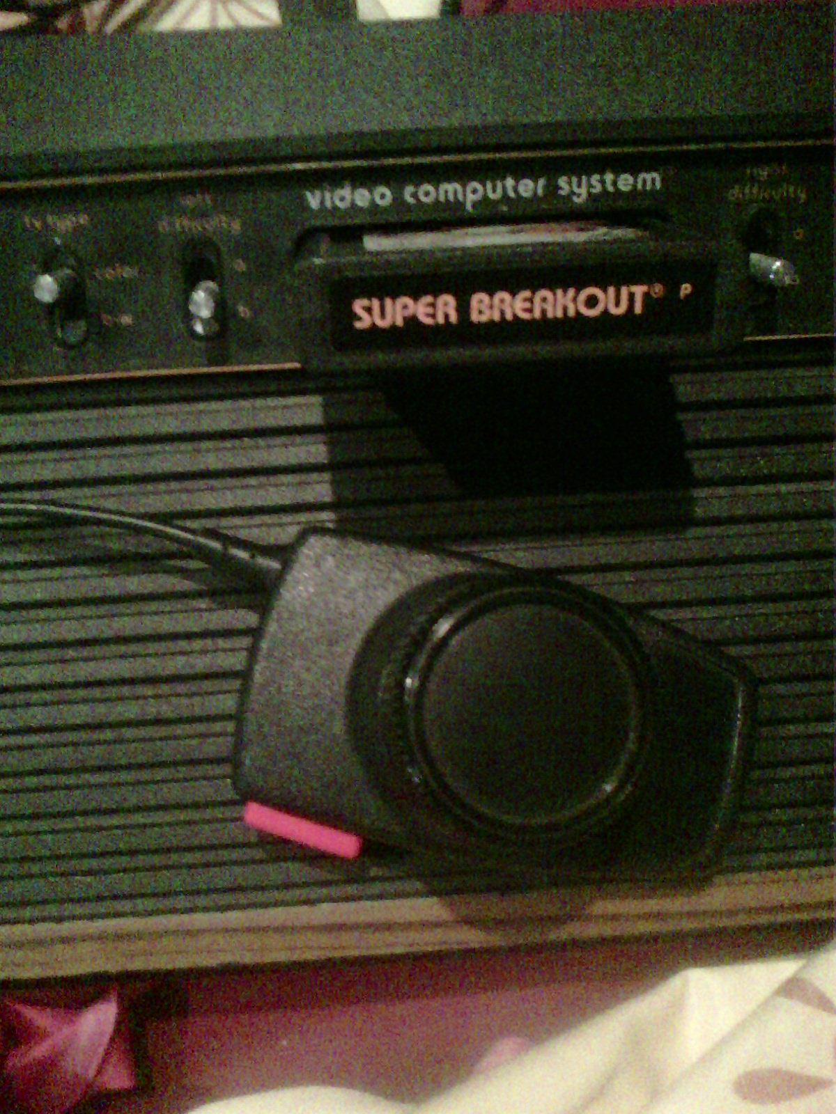 MisterVCS: Super Breakout (Atari 2600 Novice/B) 412 points on 2018-08-30 12:45:30