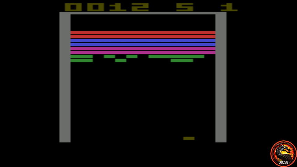 omargeddon: Super Breakout (Atari 2600 Emulated Expert/A Mode) 12 points on 2020-05-31 01:39:53