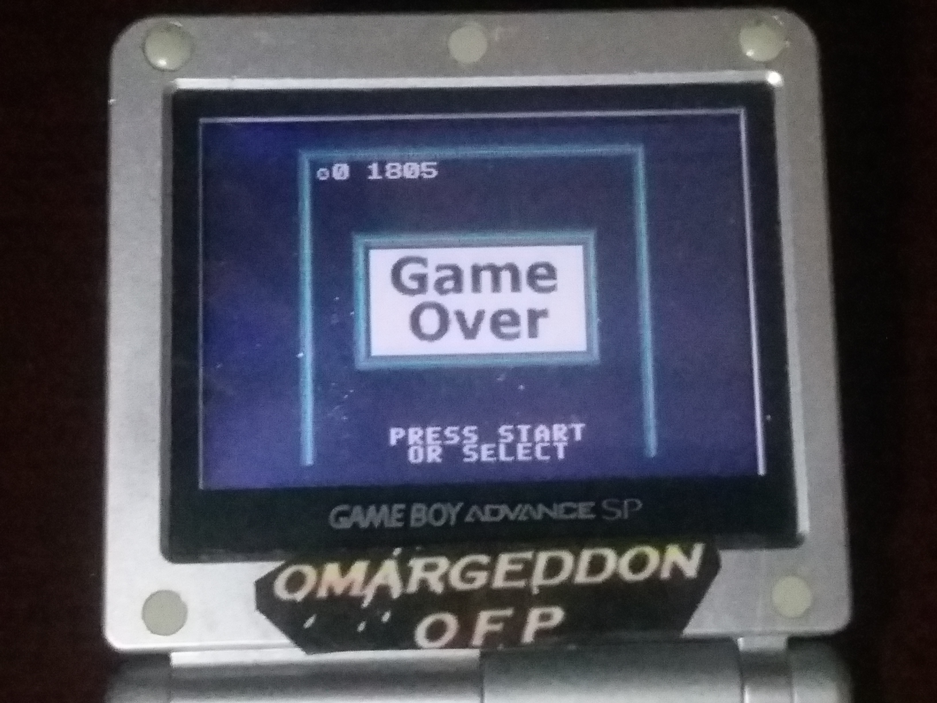 omargeddon: Super Breakout: Cavity (Game Boy Color) 1,805 points on 2018-03-20 02:21:29