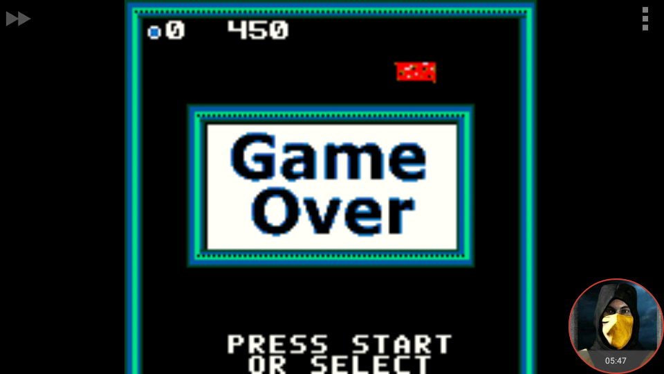 omargeddon: Super Breakout: Cavity (Game Boy Color Emulated) 450 points on 2018-03-20 13:17:01