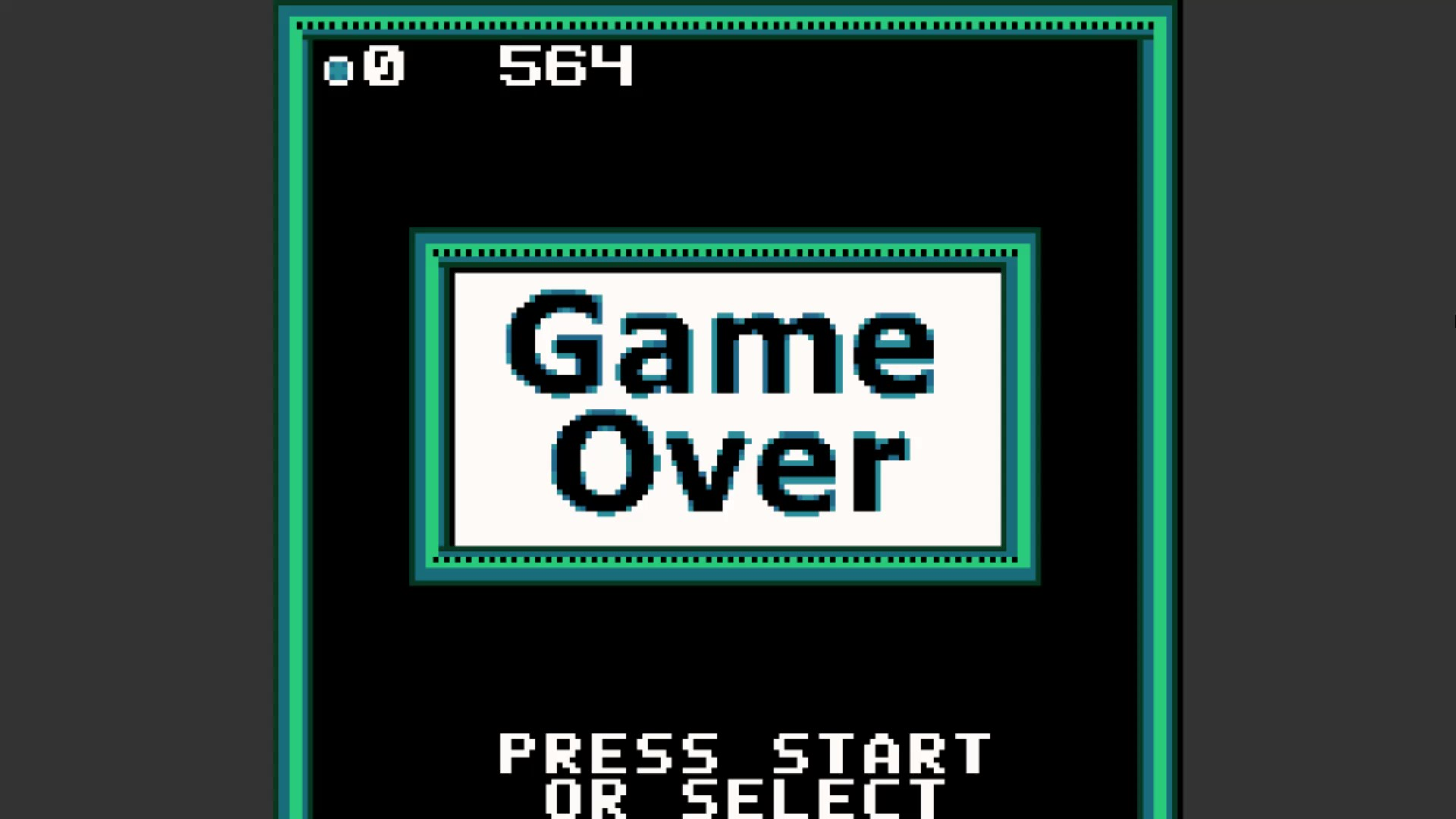 AkinNahtanoj: Super Breakout: Double (Game Boy Color Emulated) 564 points on 2020-10-17 10:06:10