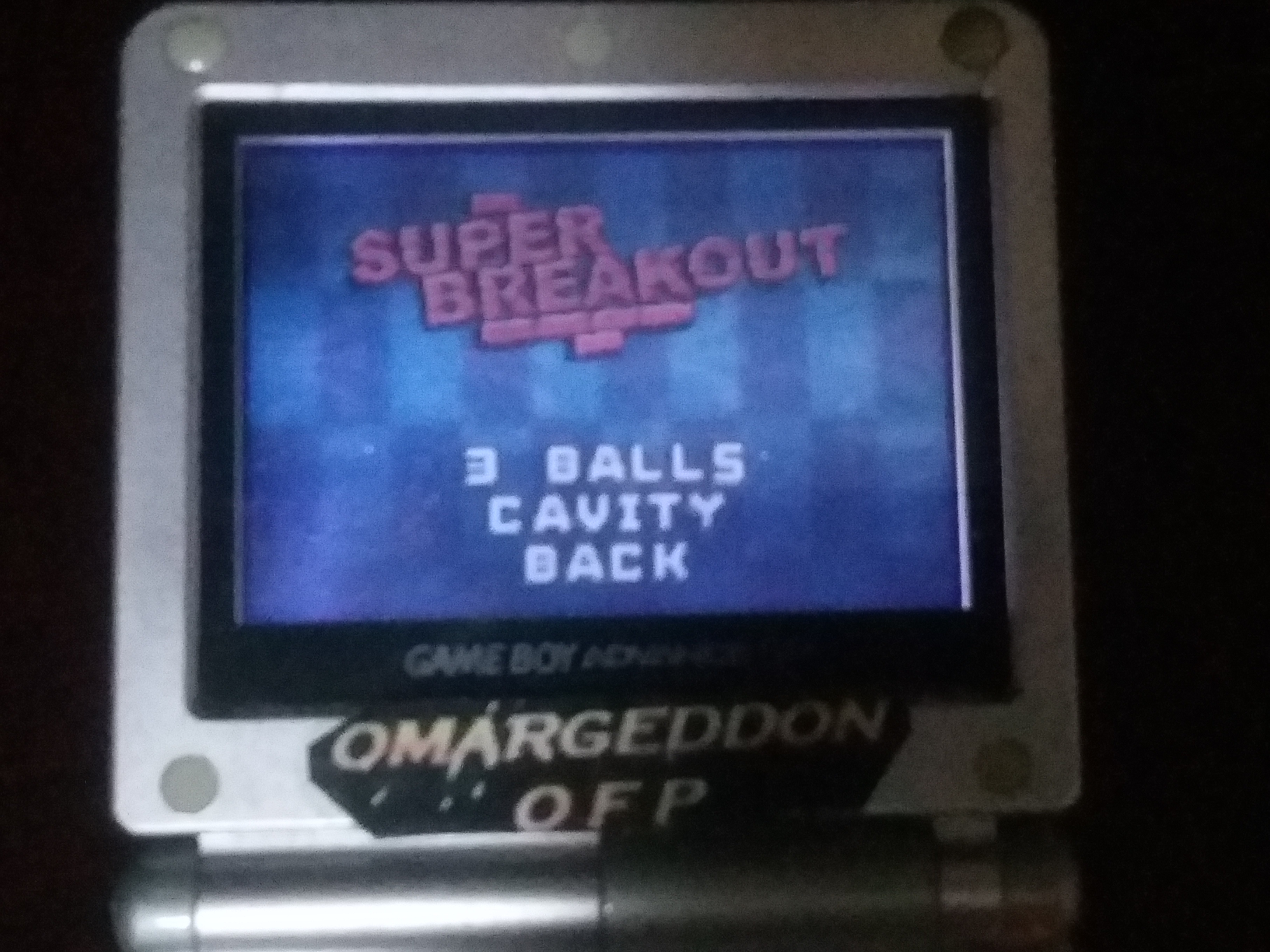 omargeddon: Super Breakout (GBA) 167 points on 2018-04-25 19:36:36
