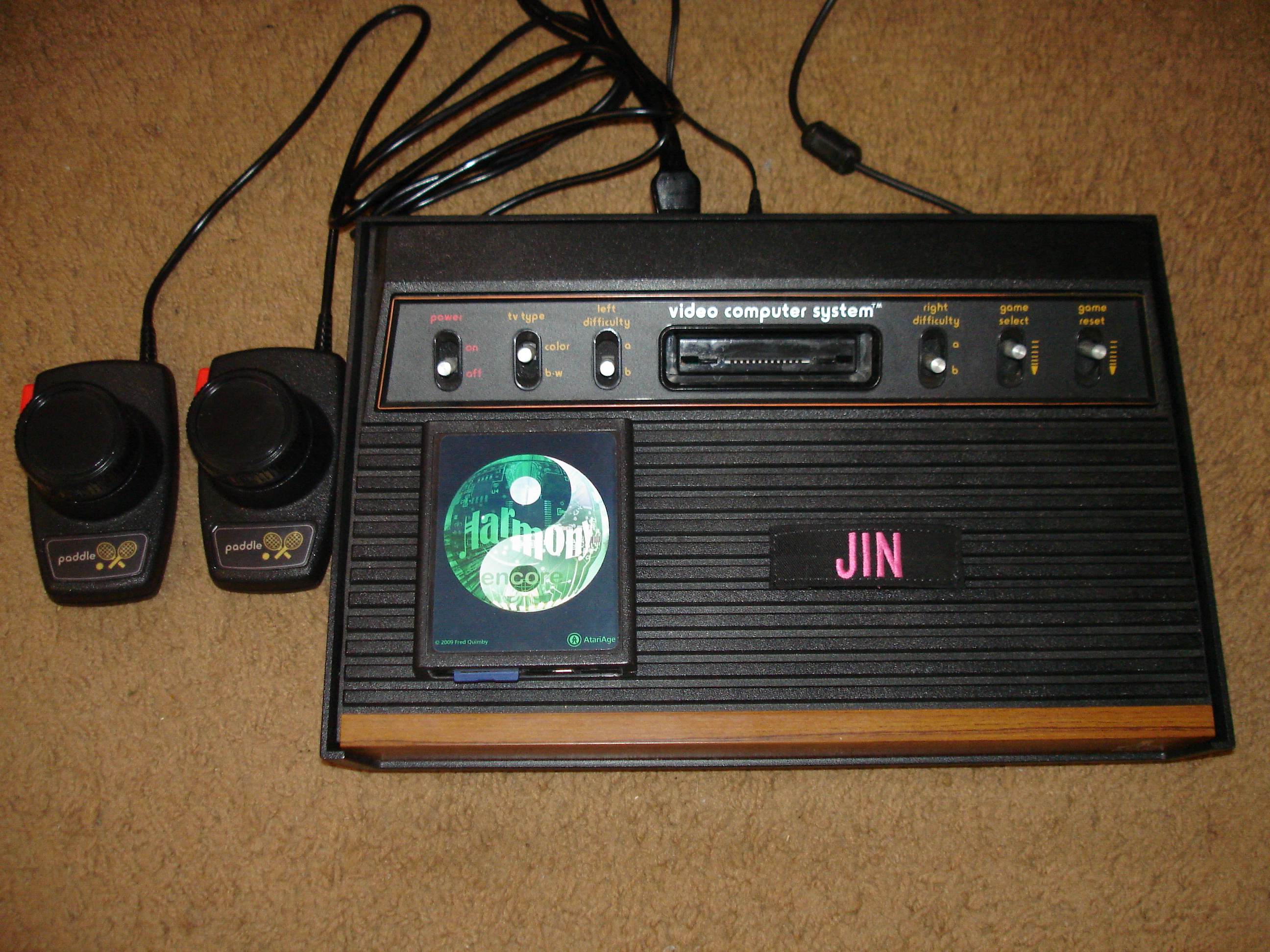 Jin: Super Breakout: Game 5 (Atari 2600 Novice/B) 2,844 points on 2017-04-17 15:43:49