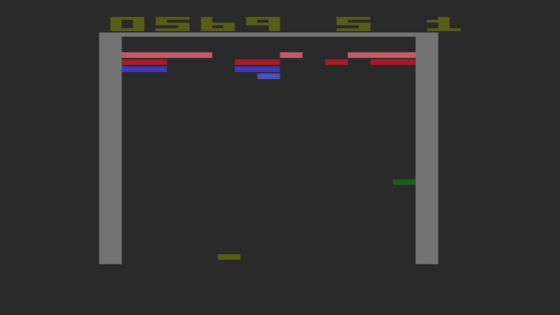 AkinNahtanoj: Super Breakout: Game 7 (Atari 2600 Emulated Novice/B Mode) 569 points on 2020-10-17 11:03:13