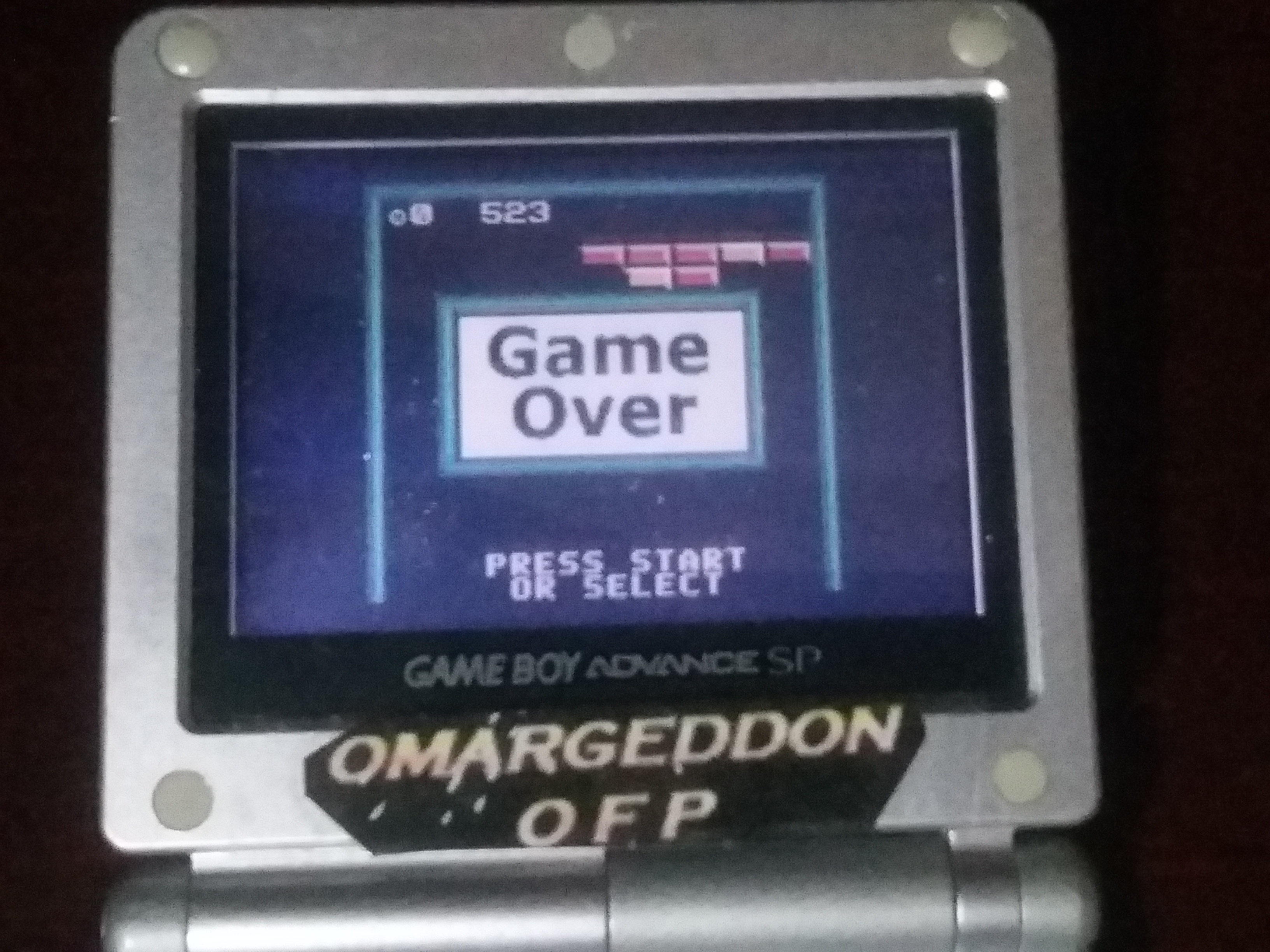 omargeddon: Super Breakout: Regular (Game Boy Color) 523 points on 2018-03-20 02:06:49