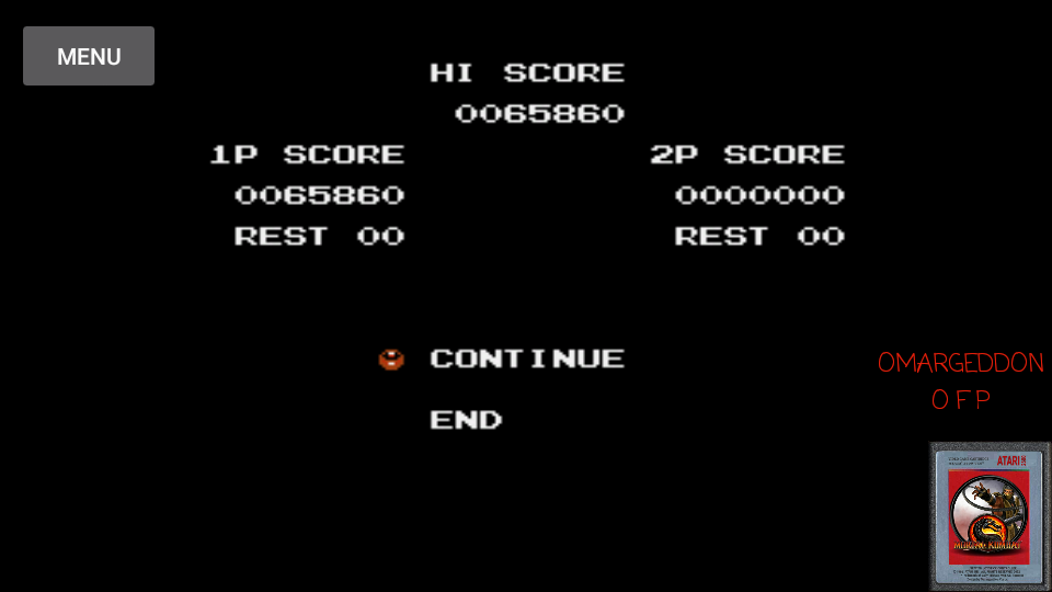 omargeddon: Super C (NES/Famicom Emulated) 65,860 points on 2017-04-15 11:37:21