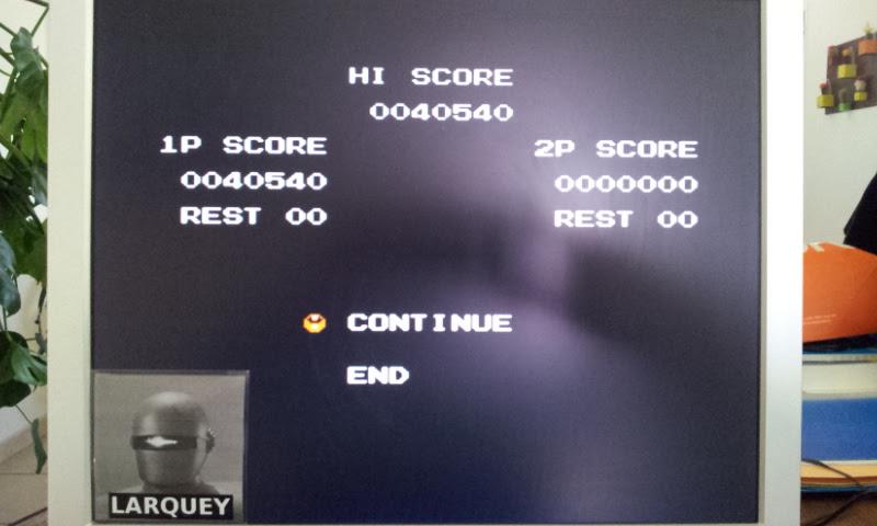Larquey: Super C (NES/Famicom Emulated) 40,540 points on 2017-04-19 11:00:36