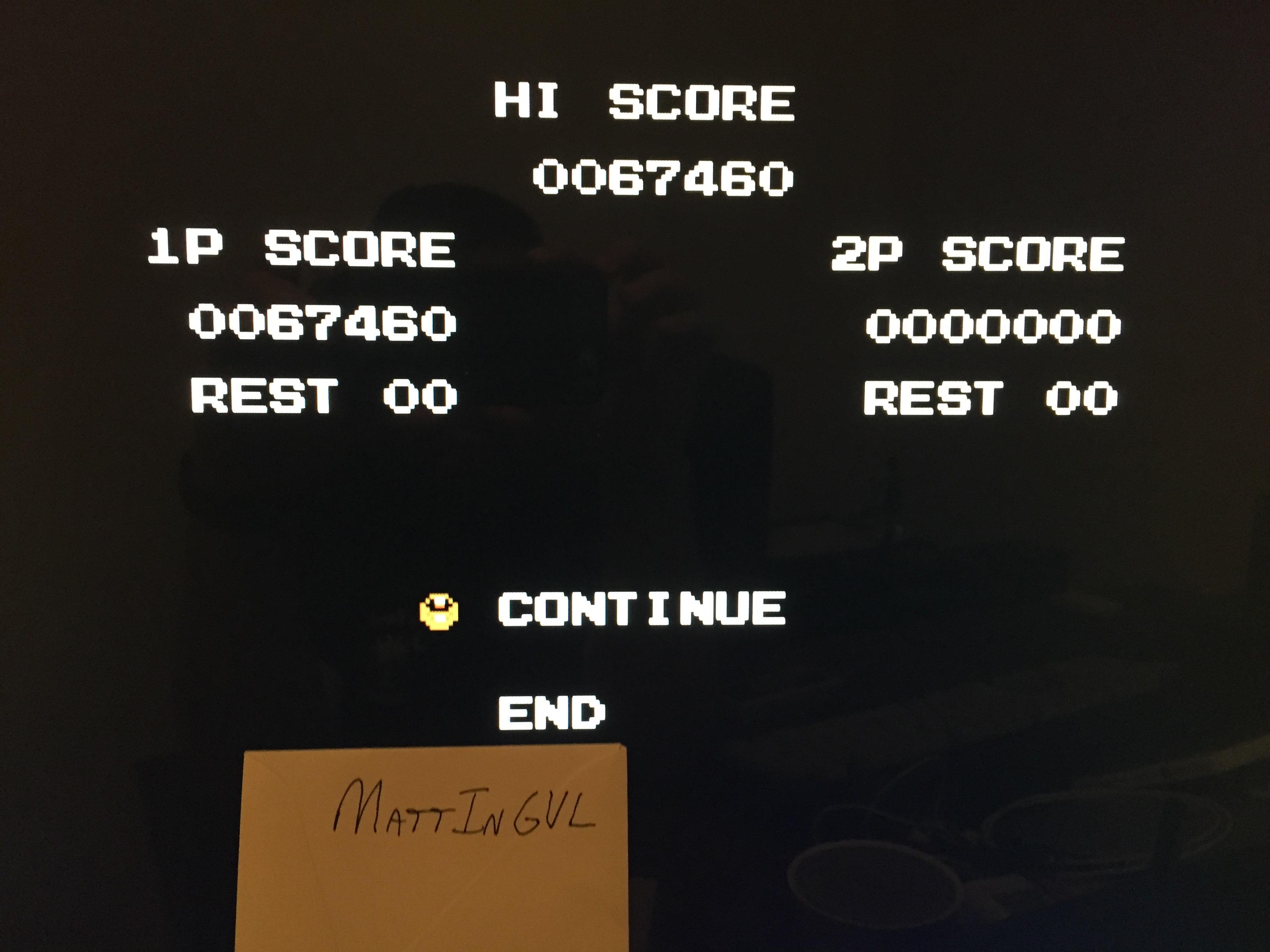 MattInGVL: Super C (NES/Famicom Emulated) 67,460 points on 2017-05-14 16:34:49