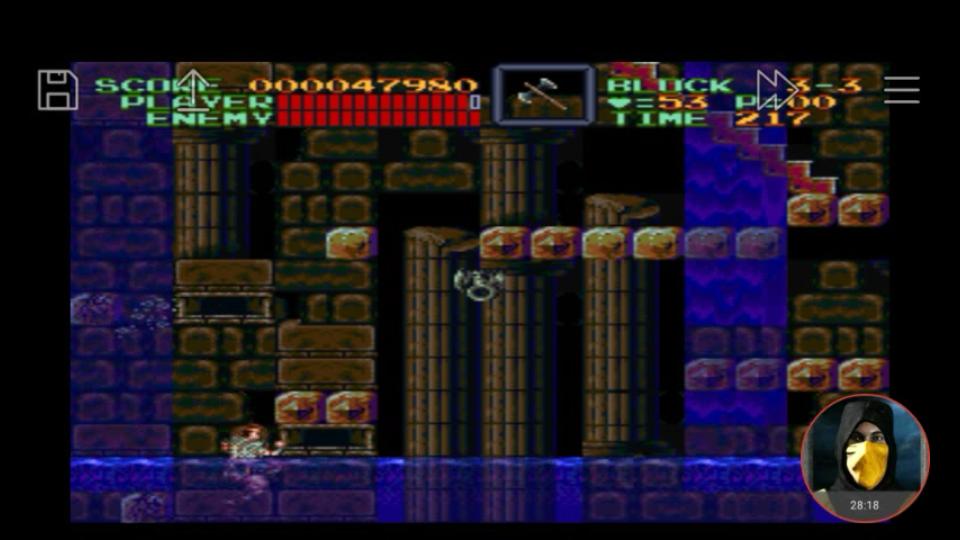 omargeddon: Super Castlevania IV (SNES/Super Famicom Emulated) 47,980 points on 2018-02-19 23:53:07