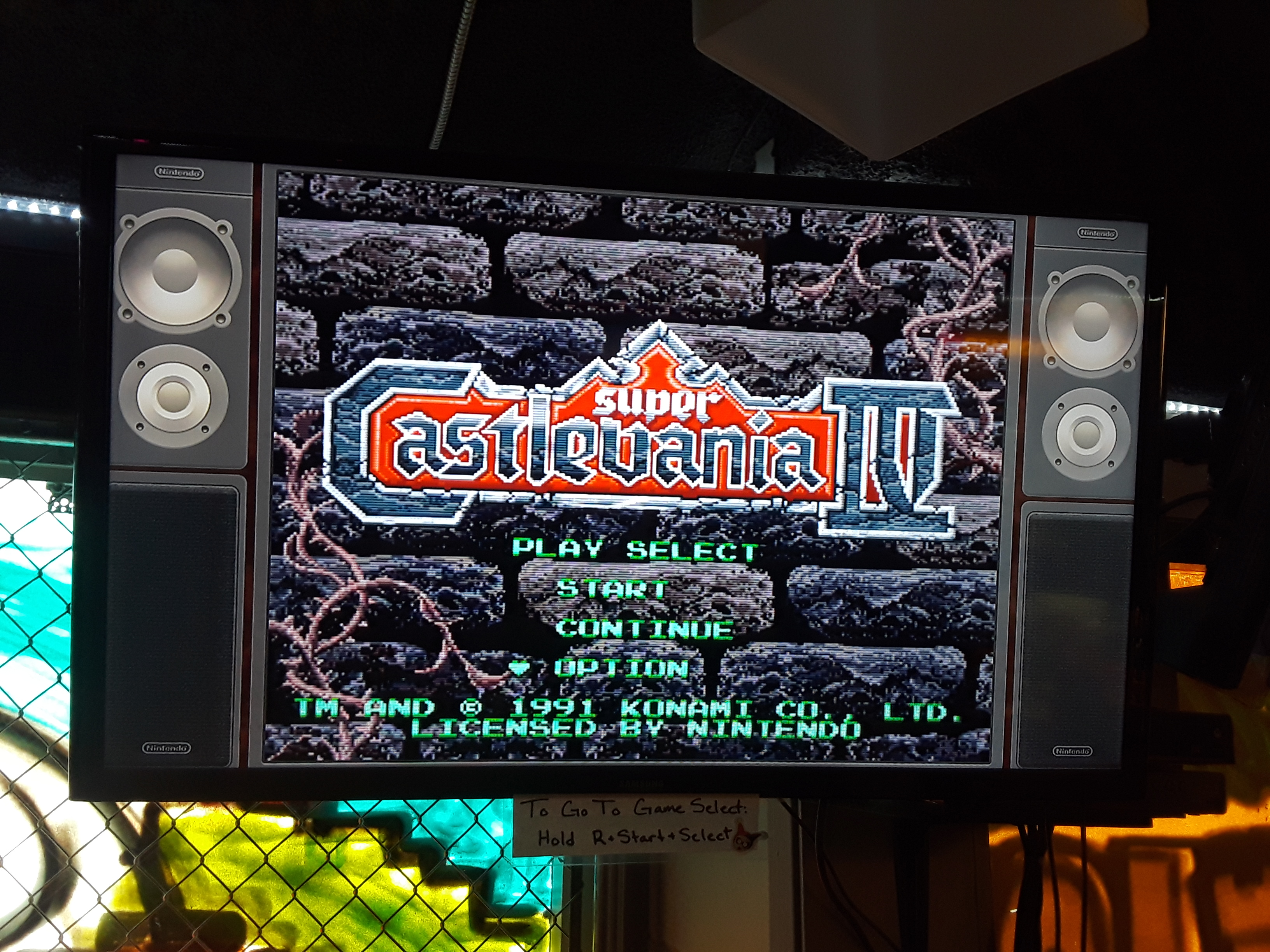 Super Castlevania IV 7,600 points