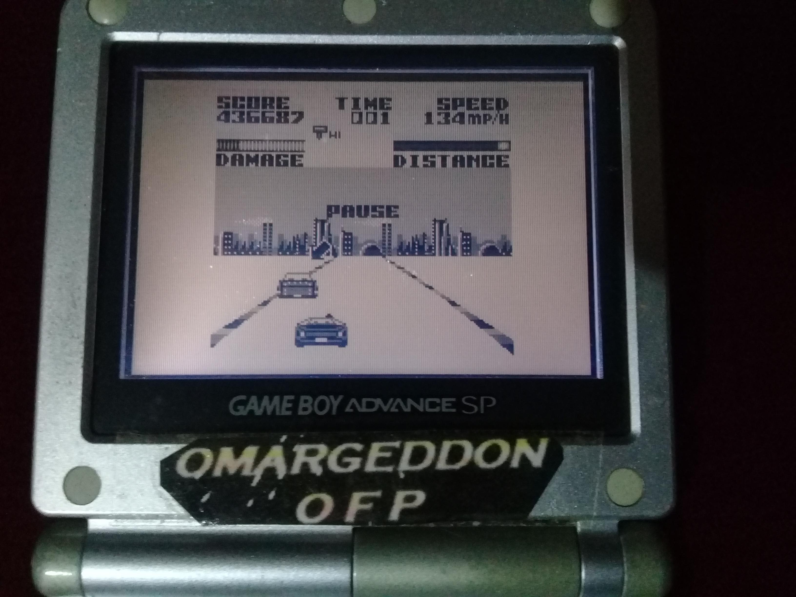 omargeddon: Super Chase H.Q. [Easy] (Game Boy) 436,687 points on 2019-08-25 21:10:46