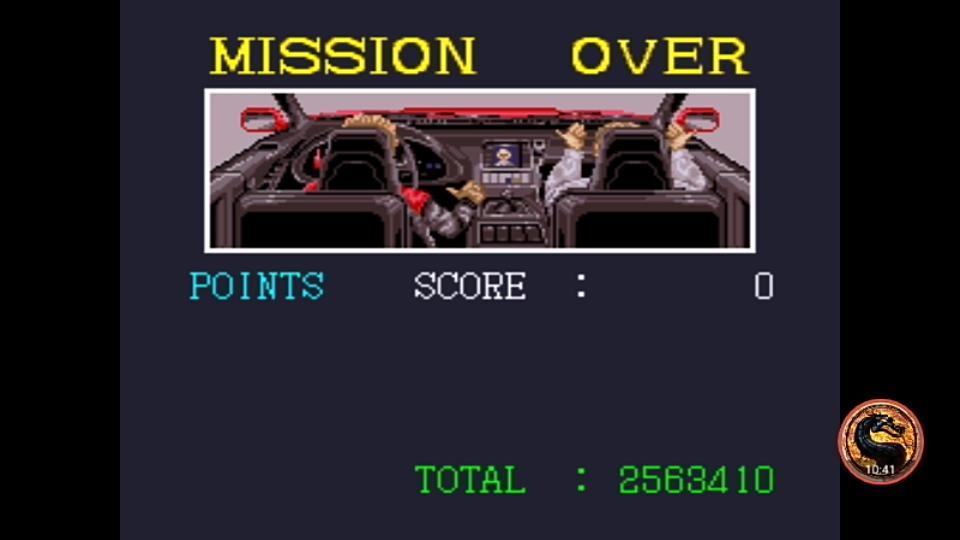 omargeddon: Super Chase H.Q. [Easy] (SNES/Super Famicom Emulated) 2,563,410 points on 2018-12-19 02:38:35