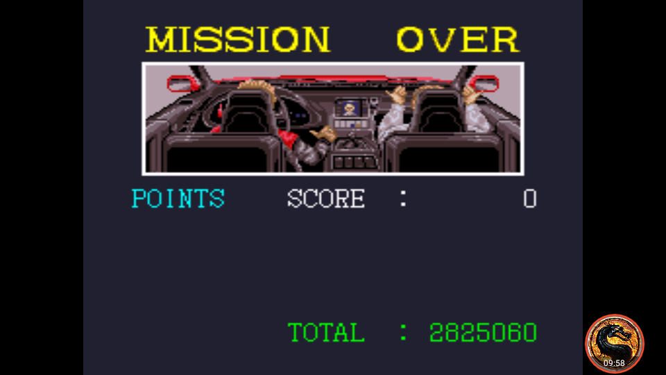 omargeddon: Super Chase H.Q. (SNES/Super Famicom Emulated) 2,825,060 points on 2018-12-08 22:52:26