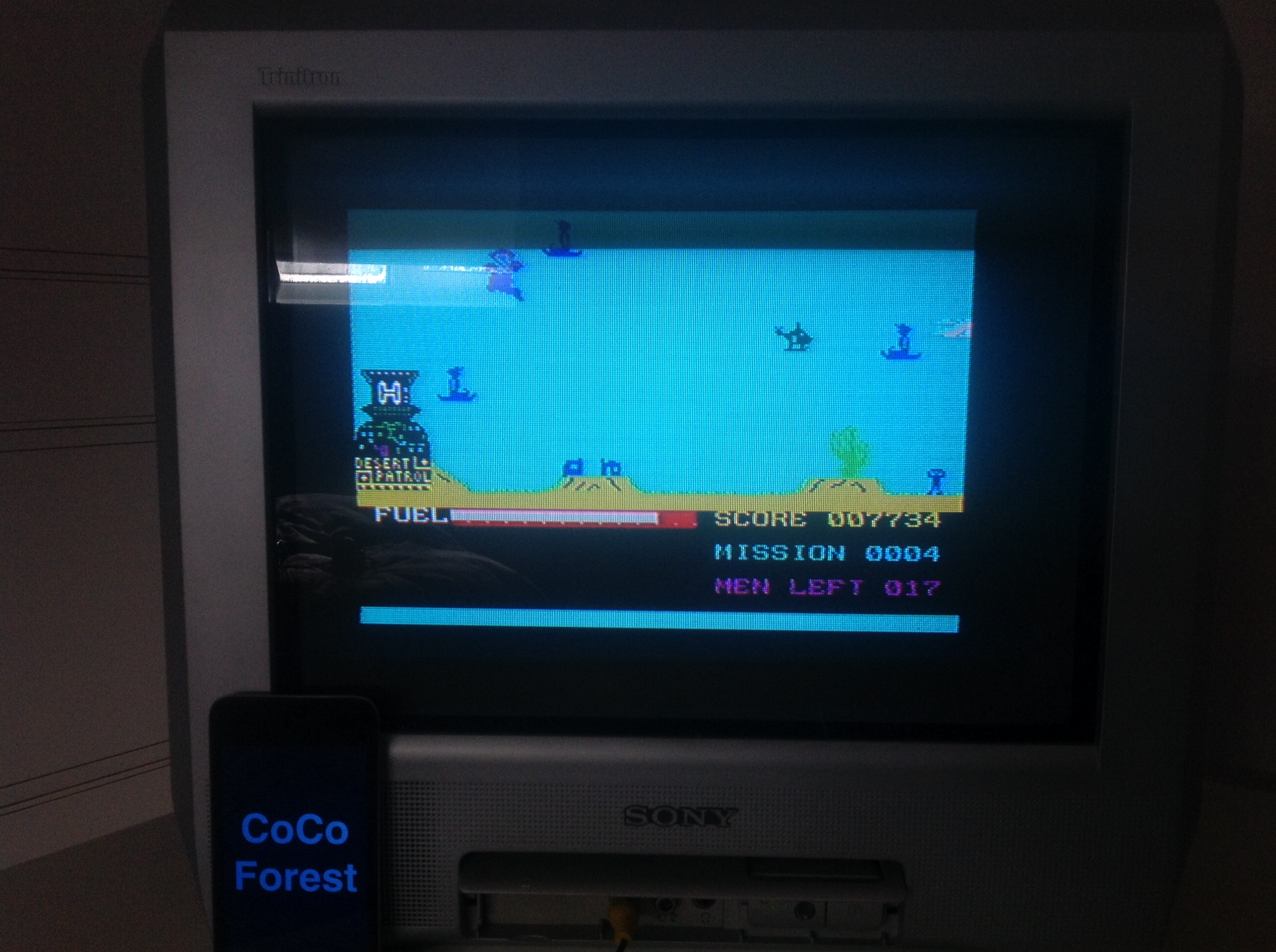 CoCoForest: Super Chopper (ZX Spectrum) 7,734 points on 2016-01-18 06:55:27