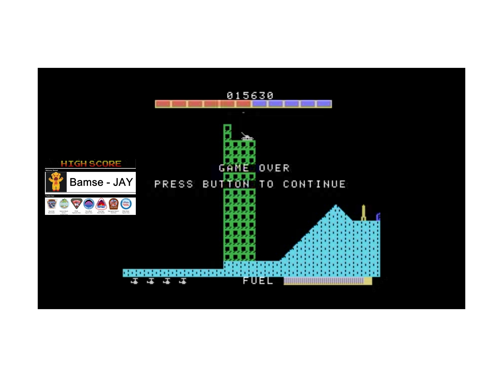 Bamse: Super Cobra (Colecovision Emulated) 15,630 points on 2019-12-12 15:18:06