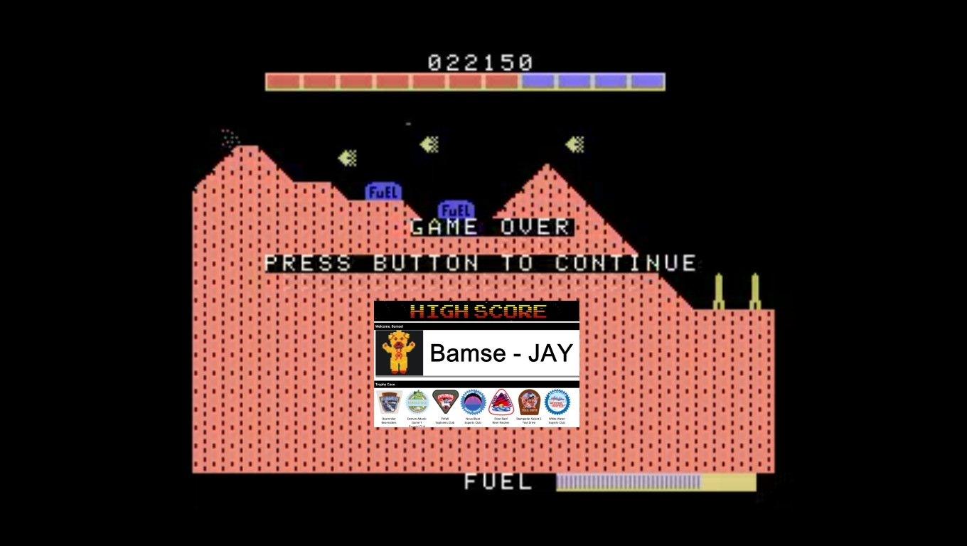 Bamse: Super Cobra (Colecovision Emulated) 22,150 points on 2020-04-04 12:13:08