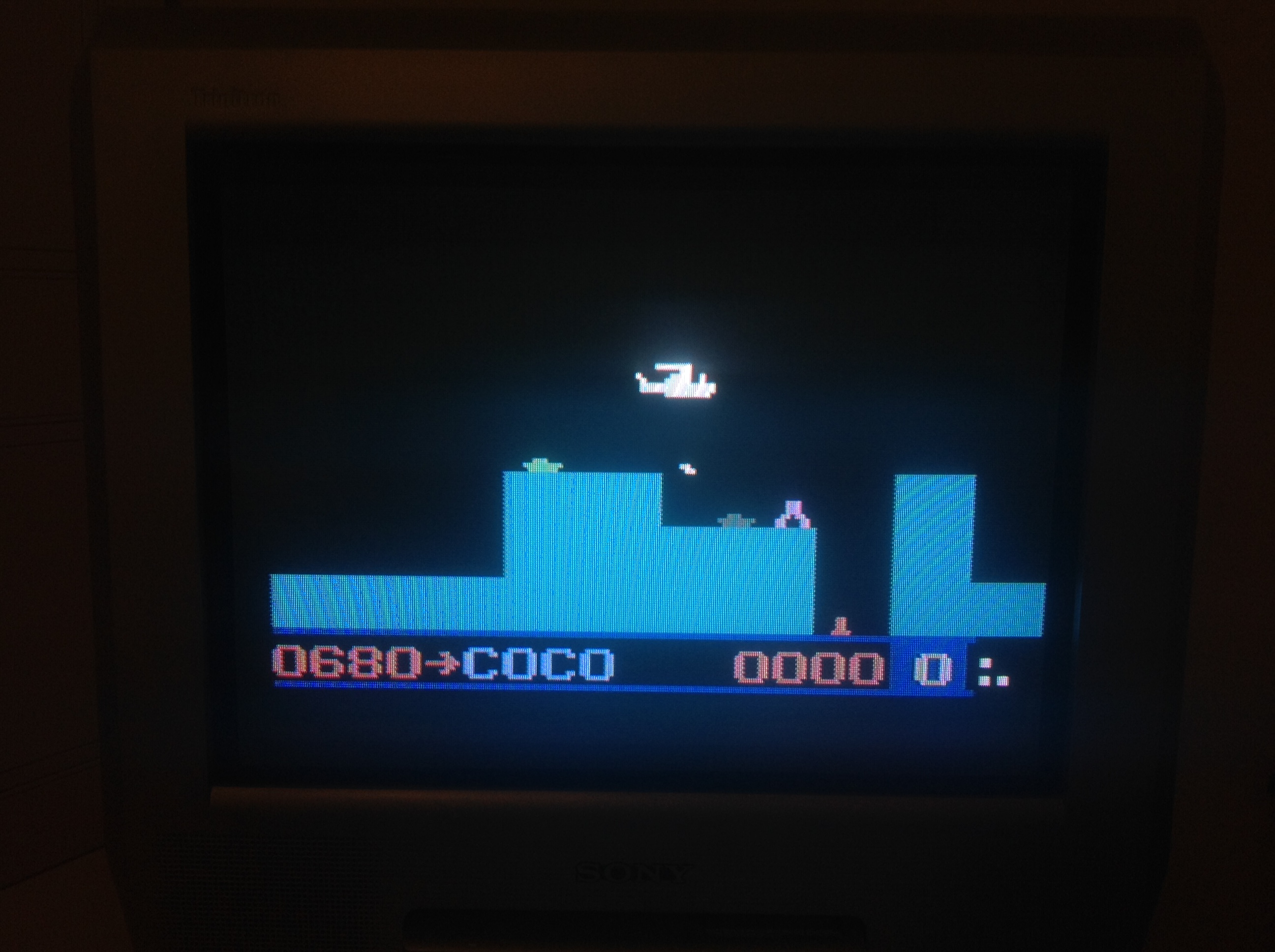 CoCoForest: Super Cobra (Odyssey 2 / Videopac) 680 points on 2015-10-23 12:10:09