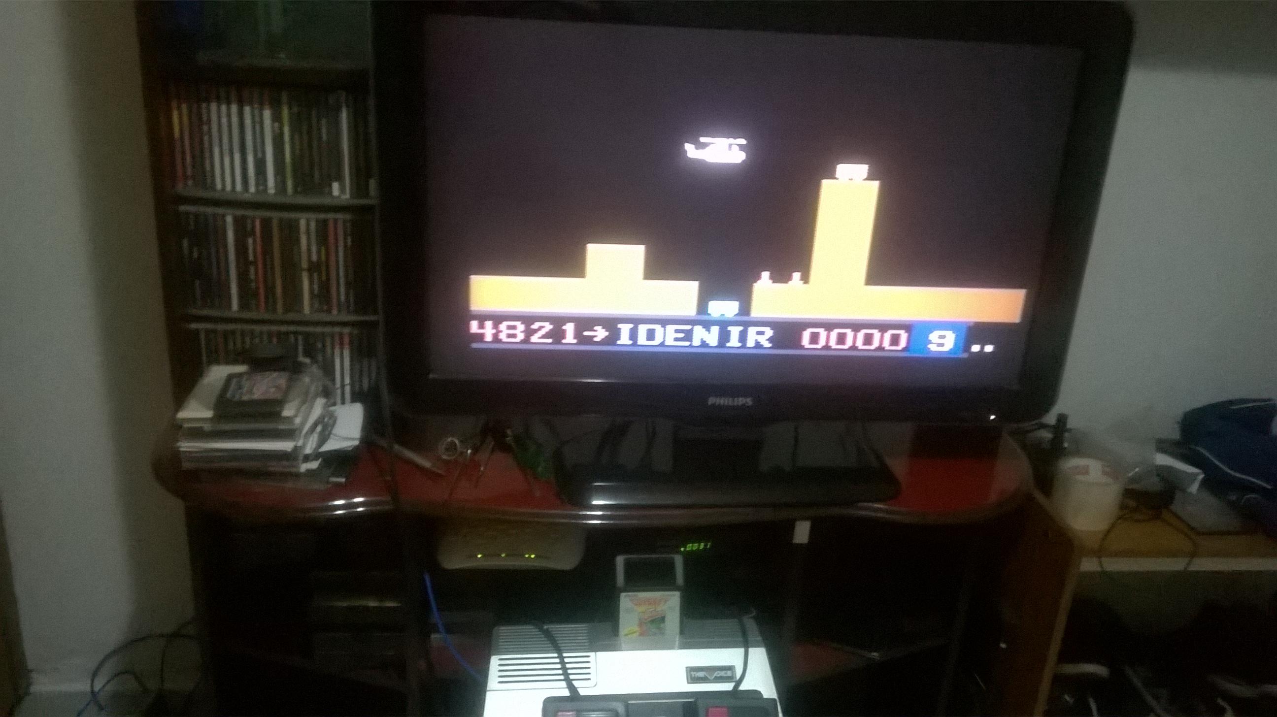 idenir: Super Cobra (Odyssey 2 / Videopac) 4,821 points on 2017-03-08 21:31:40