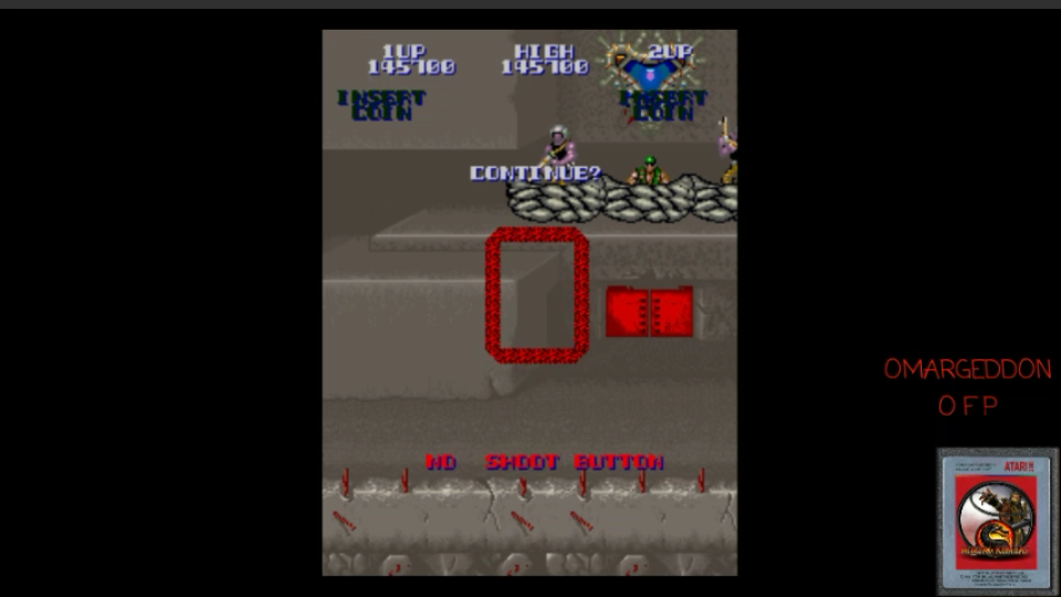 omargeddon: Super Contra [scontra] (Arcade Emulated / M.A.M.E.) 145,700 points on 2017-04-15 09:35:49