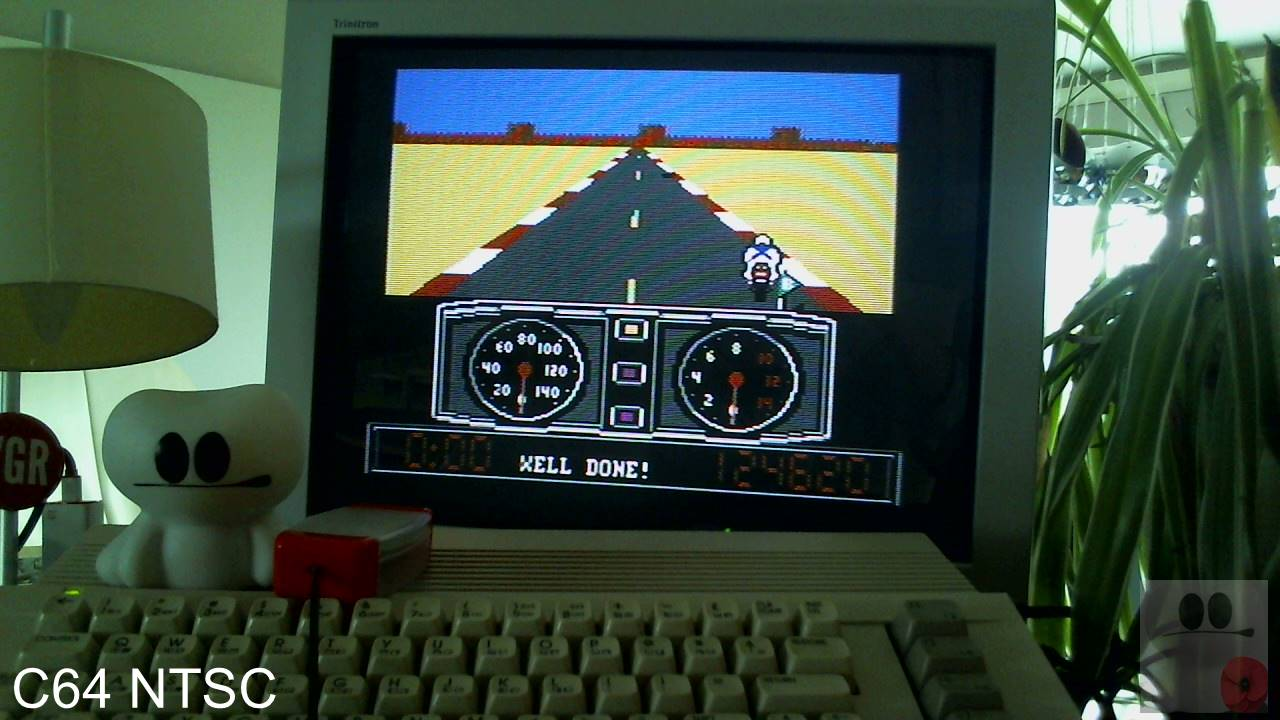 GTibel: Super Cycle [Level 1 Start] (Commodore 64) 124,620 points on 2020-04-13 03:43:01