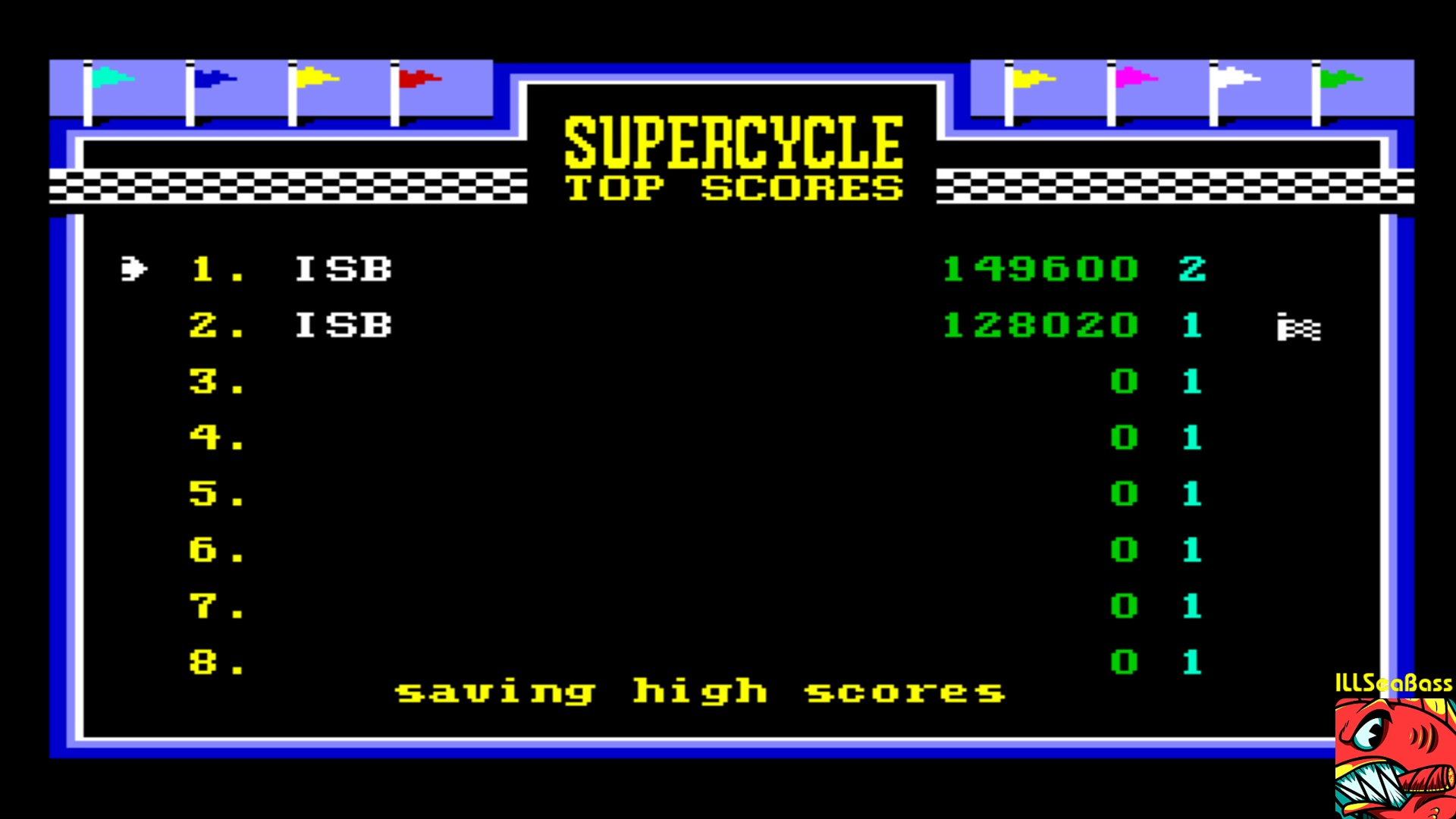 ILLSeaBass: Super Cycle [Level 2 Start] (Commodore 64 Emulated) 149,600 points on 2018-01-16 20:15:11