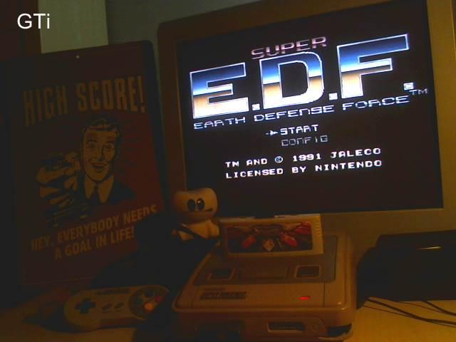 GTibel: Super E.D.F. : Earth Defense Force [Normal] (SNES/Super Famicom) 697,900 points on 2016-11-20 02:47:17