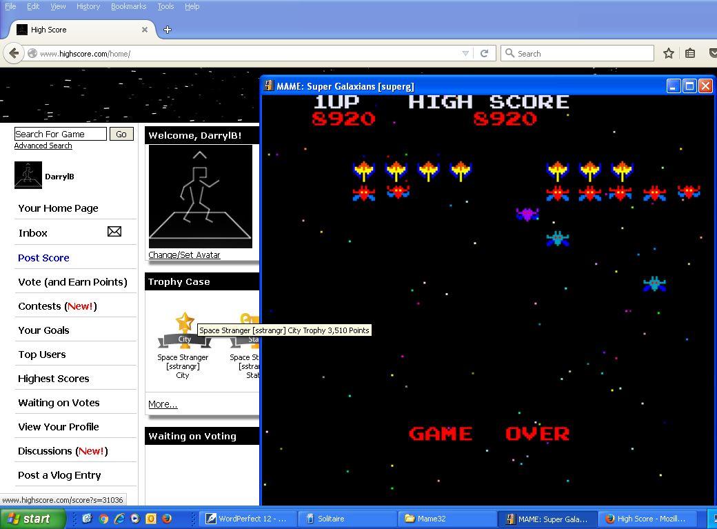 Super Galaxians [superg] 8,920 points