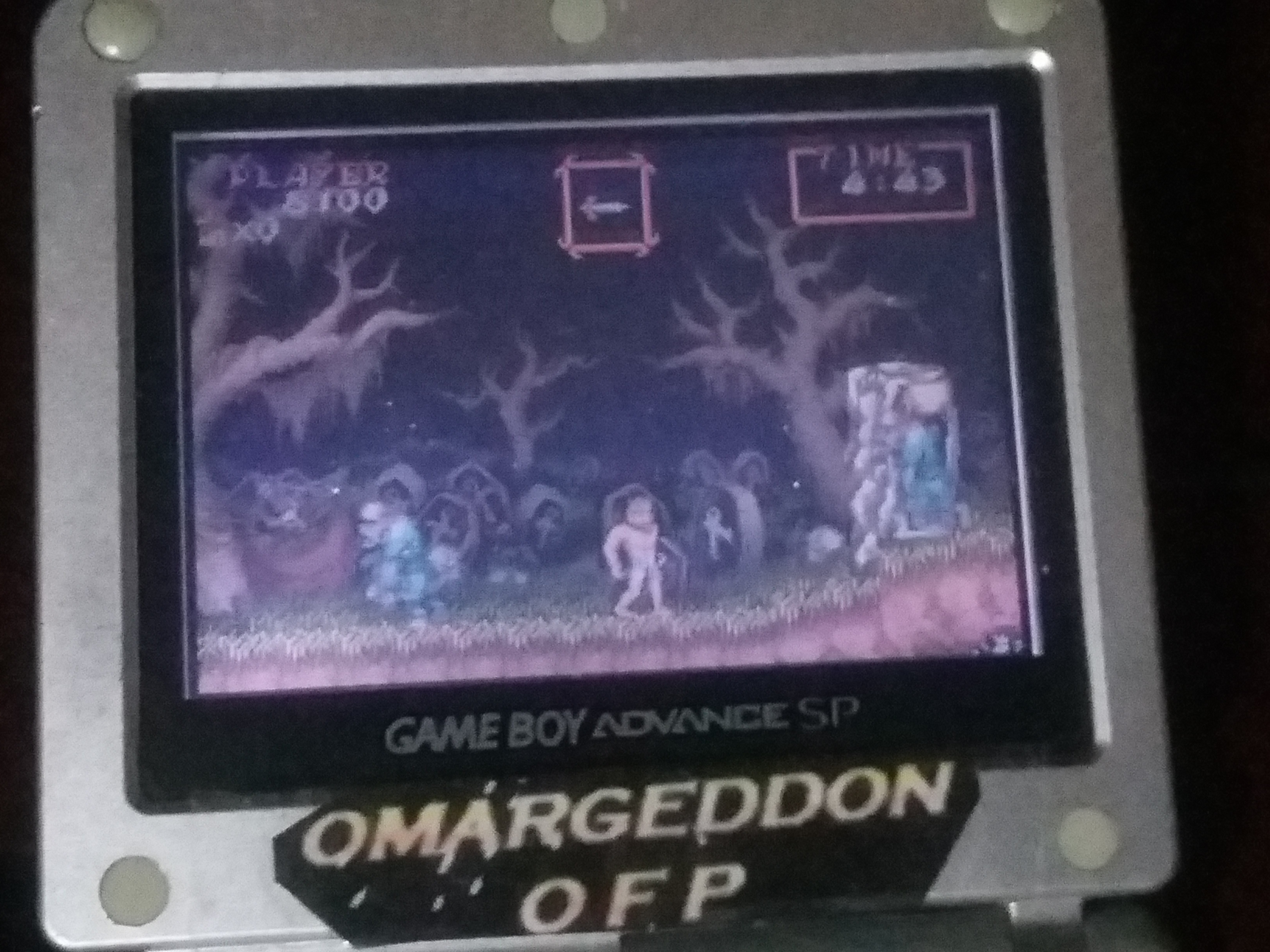 omargeddon: Super Ghouls N Ghosts [Arrange Mode] (GBA) 8,100 points on 2018-04-25 21:10:45