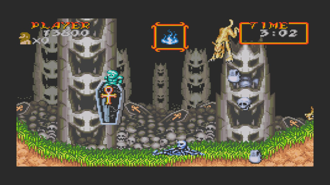 AkinNahtanoj: Super Ghouls N Ghosts [Original Mode] (GBA Emulated) 13,800 points on 2020-10-29 17:03:56