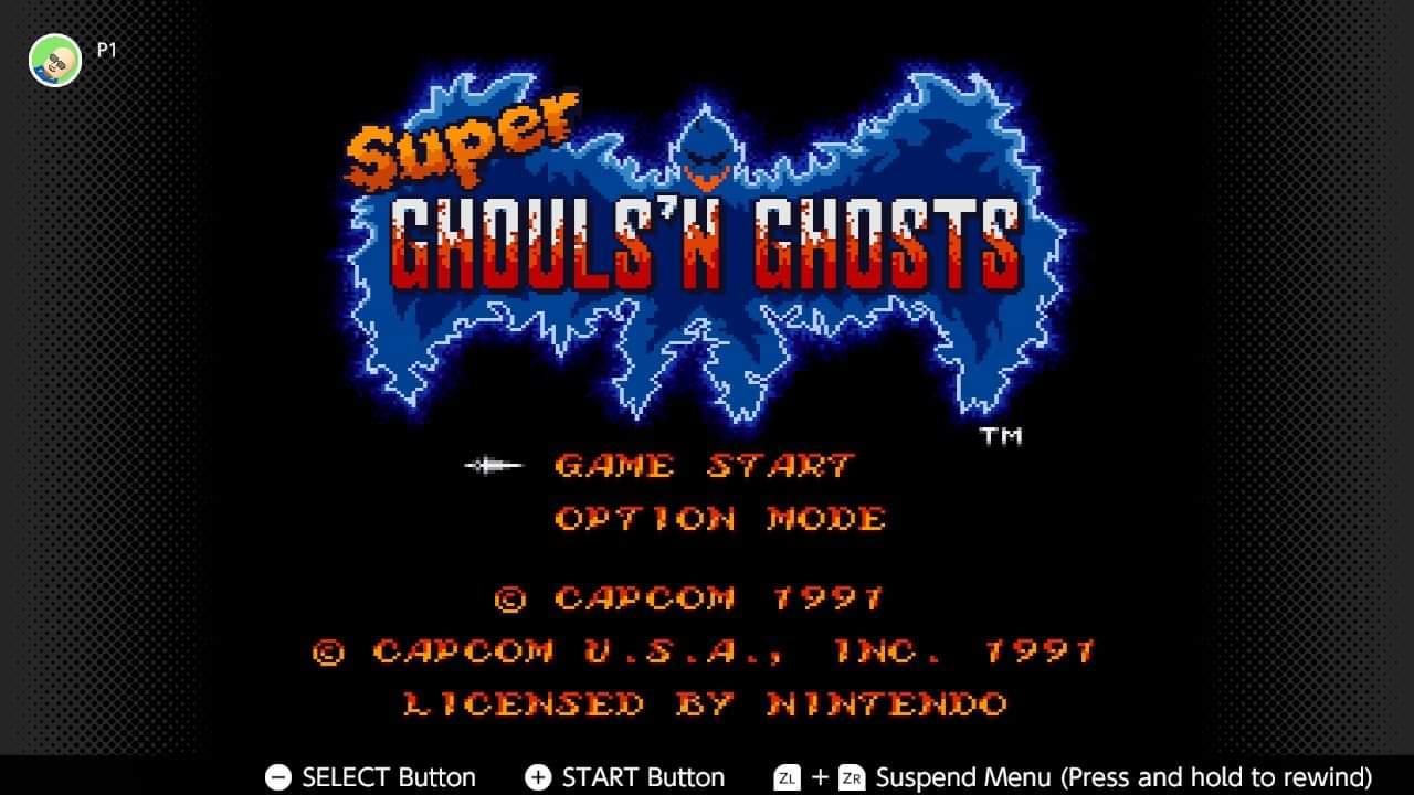 JML101582: Super Ghouls N Ghosts (SNES/Super Famicom Emulated) 4,100 points on 2021-01-09 14:46:00