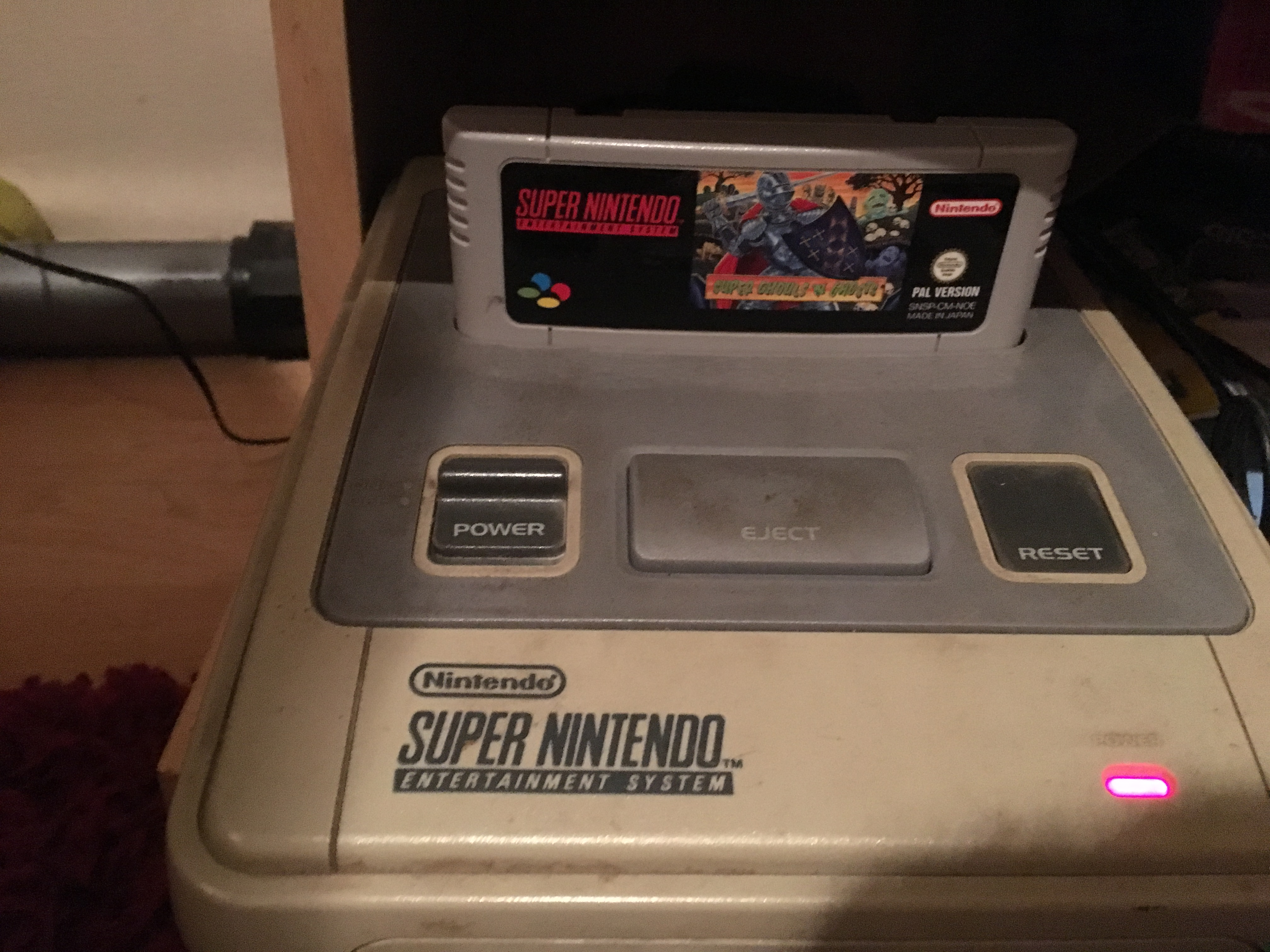 DARAIOS: Super Ghouls N Ghosts (SNES/Super Famicom) 325,600 points on 2018-10-14 15:20:49