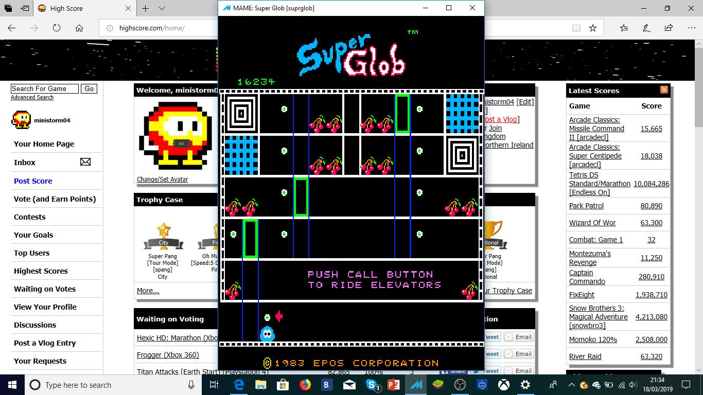 Super Glob [suprglob] 16,234 points