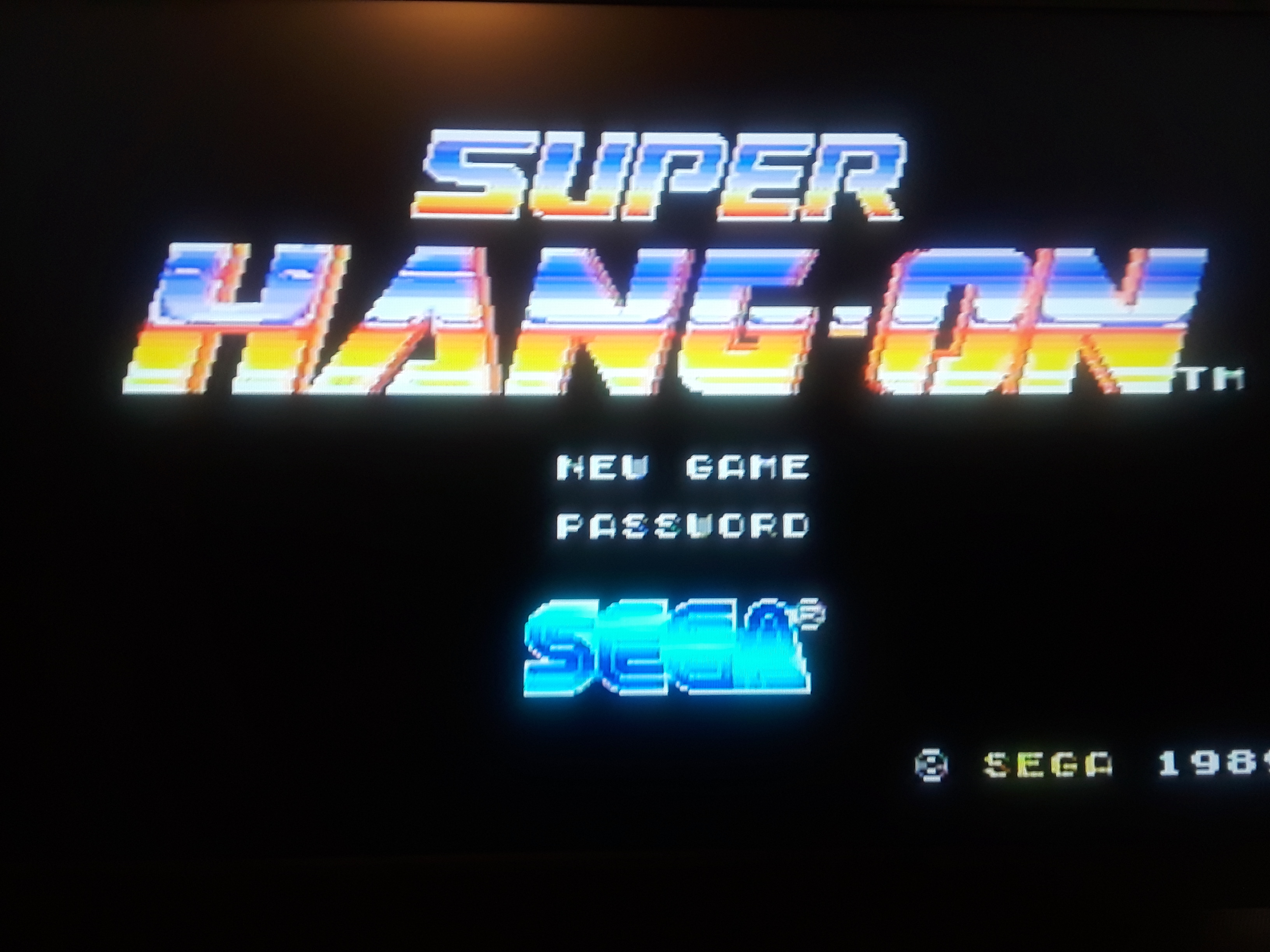 Super Hang-On [Advanced Course] 3,593,500 points