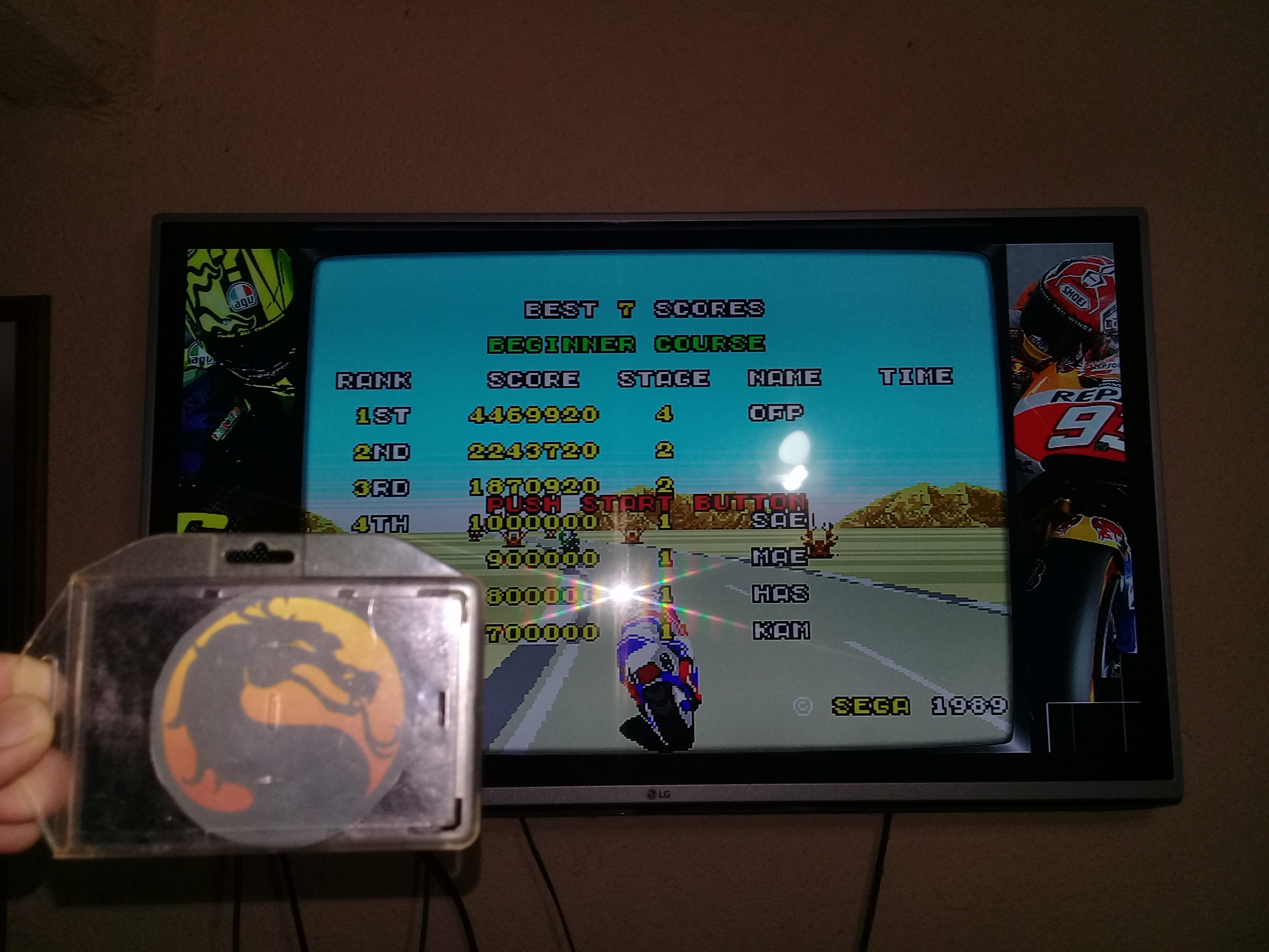 omargeddon: Super Hang-On [Beginner Course] (Sega Genesis / MegaDrive Emulated) 4,469,920 points on 2020-07-03 22:45:04