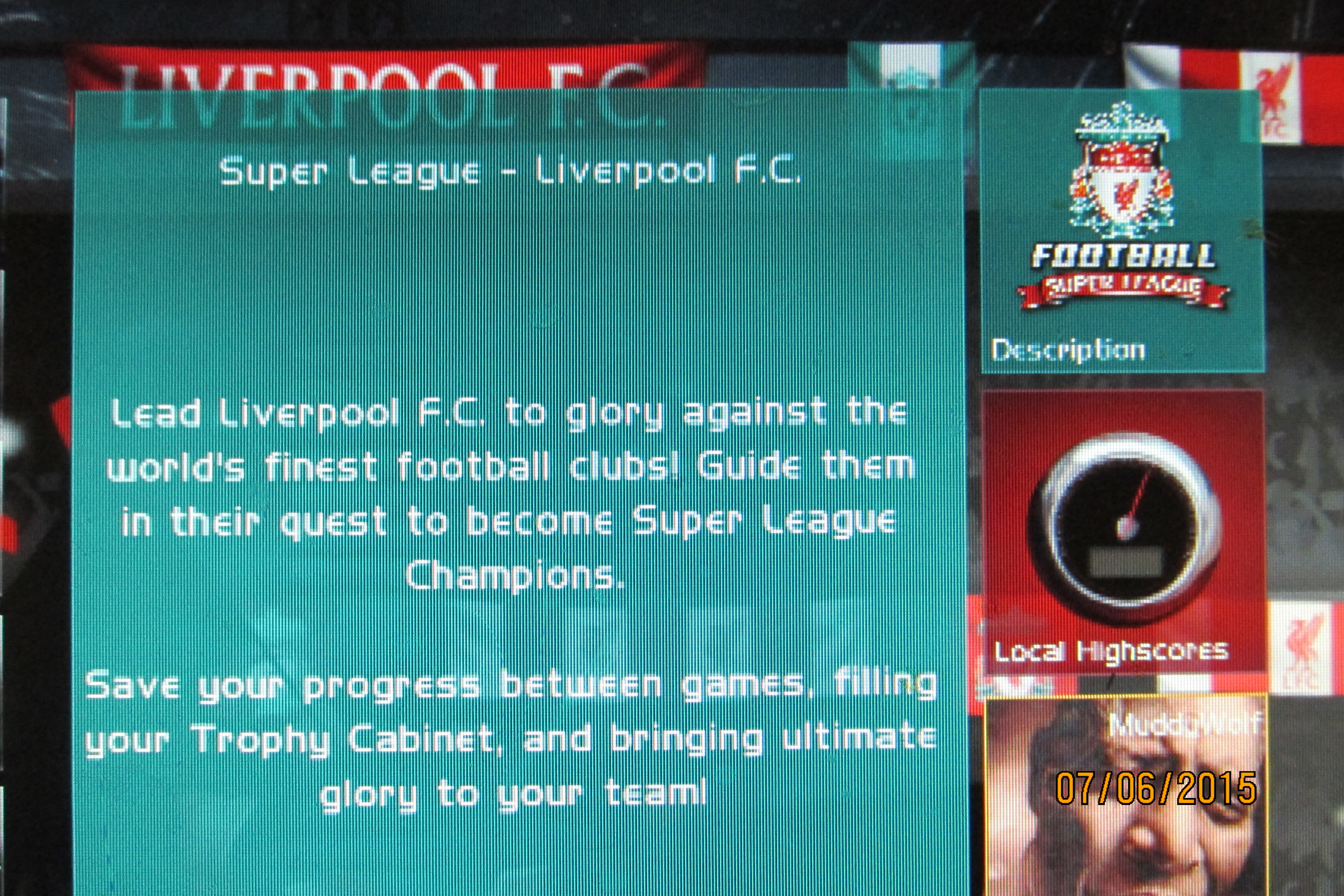 Mark: Super League Football: Liverpool F.C. Table (PC) 8,134,625 points on 2015-07-12 23:22:22