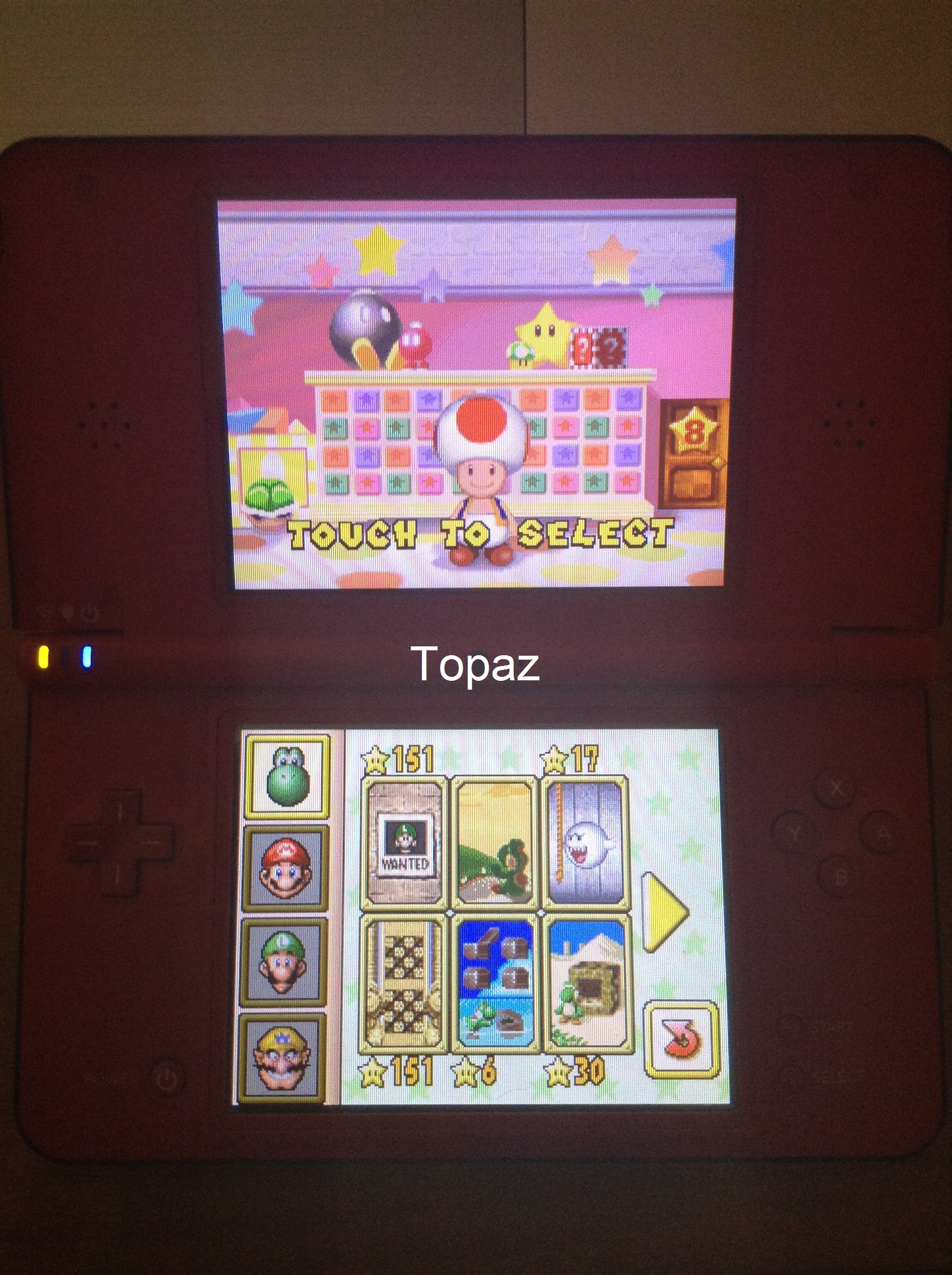 Topaz: Super Mario 64 DS: Hide and Boo Seek (Nintendo DS) 17 points on 2019-10-18 19:35:15