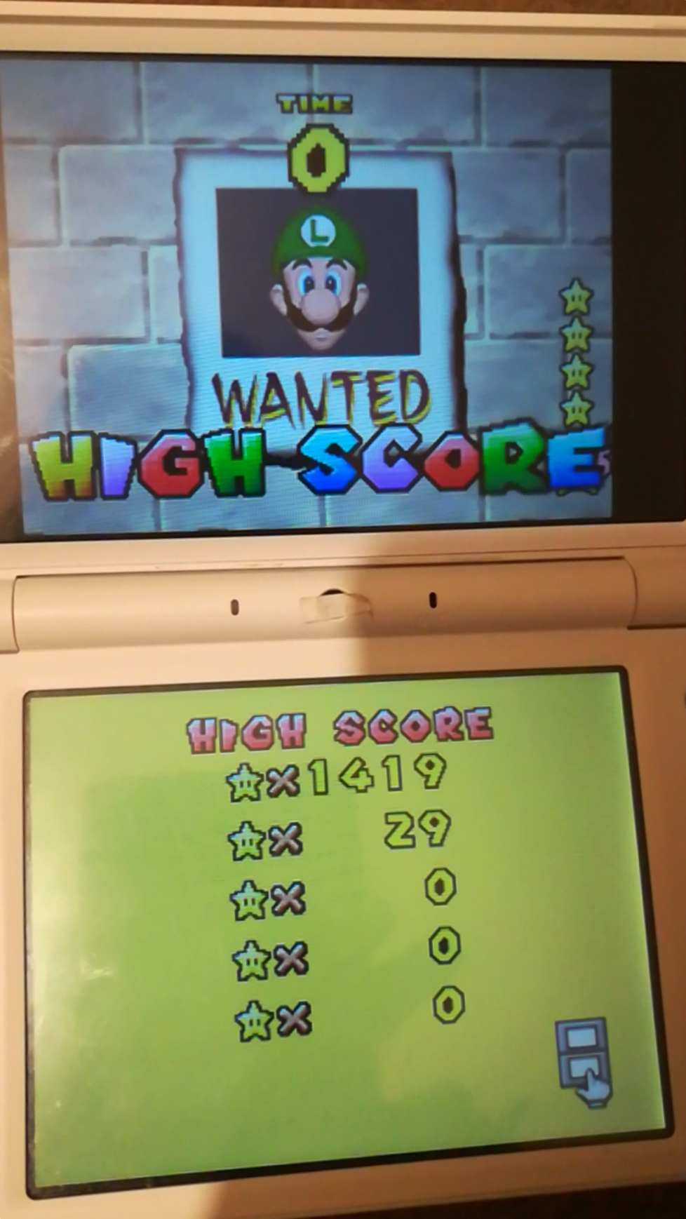 Mimitchi: Super Mario 64 DS: Wanted! (Nintendo DS) 1,419 points on 2020-02-02 18:14:16